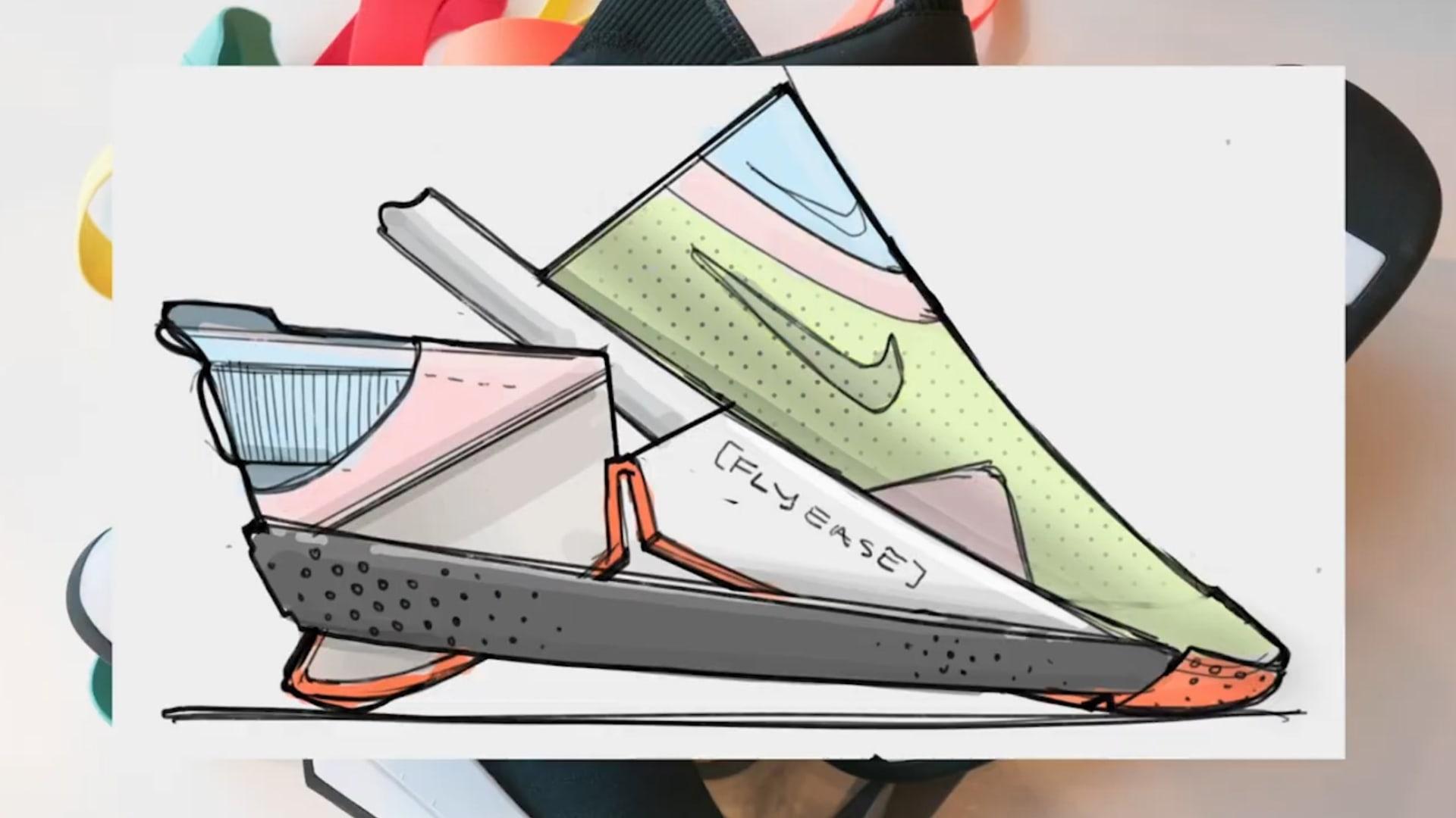"""شاهد ابتكار شركة """"نايكي"""" لحذائها الرياضي الجديد """"بدون استخدام اليدين"""""""