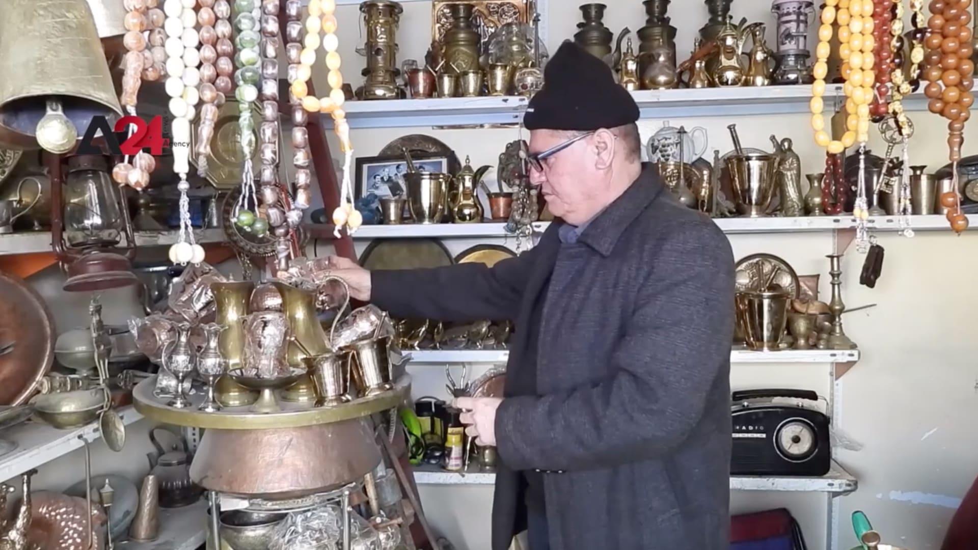 يقصدها عشاق اقتناء التحف النادرة.. جولة في حوانيت النحاسين بالسليمانية في العراق