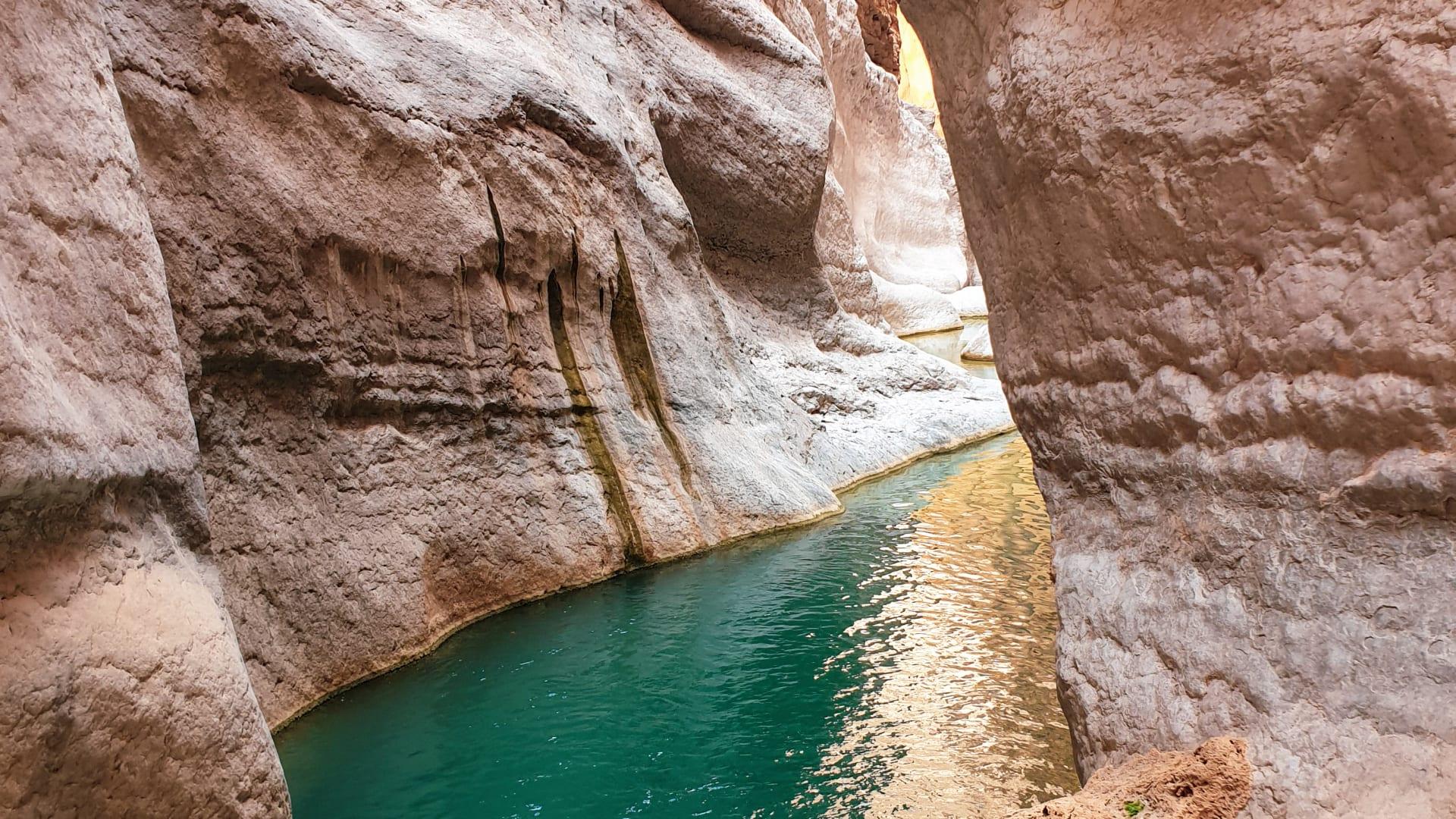وادي طيوي في سلطنة عُمان