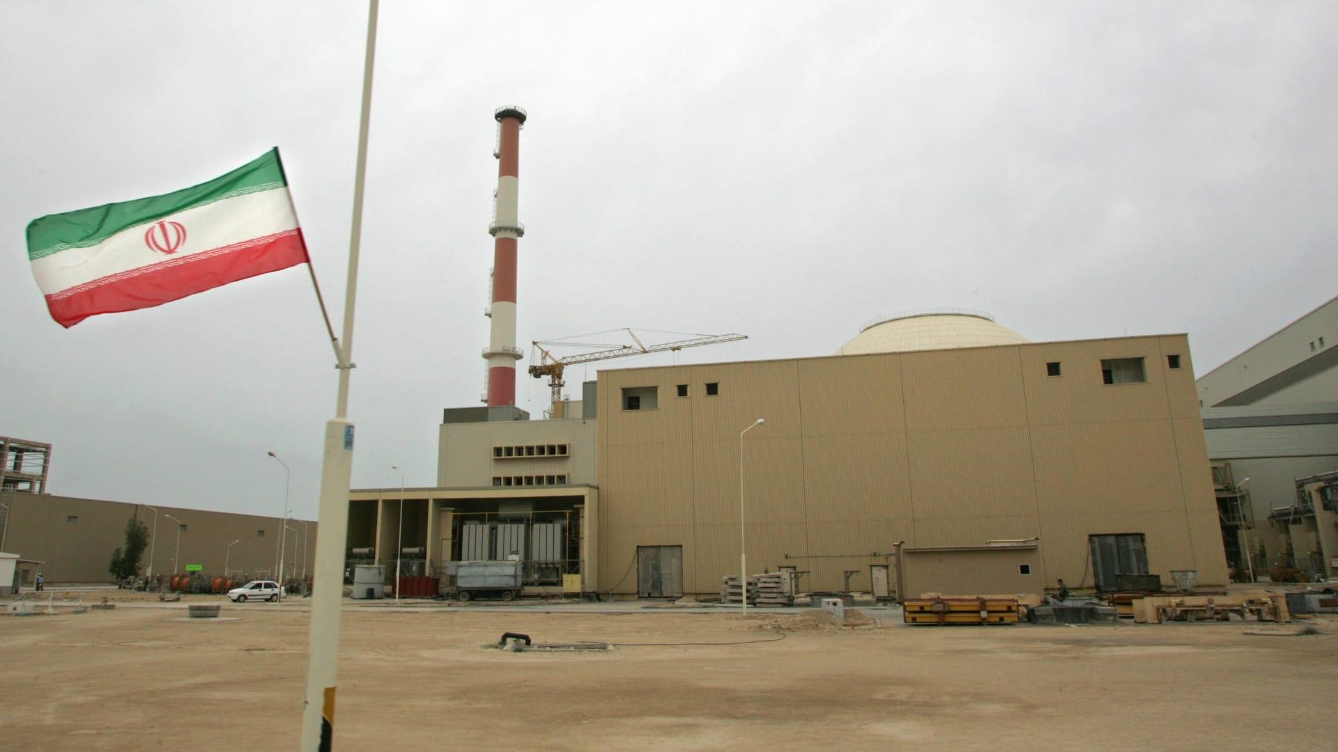 صورة أرشيفية لمفاعل بوشهر النووي