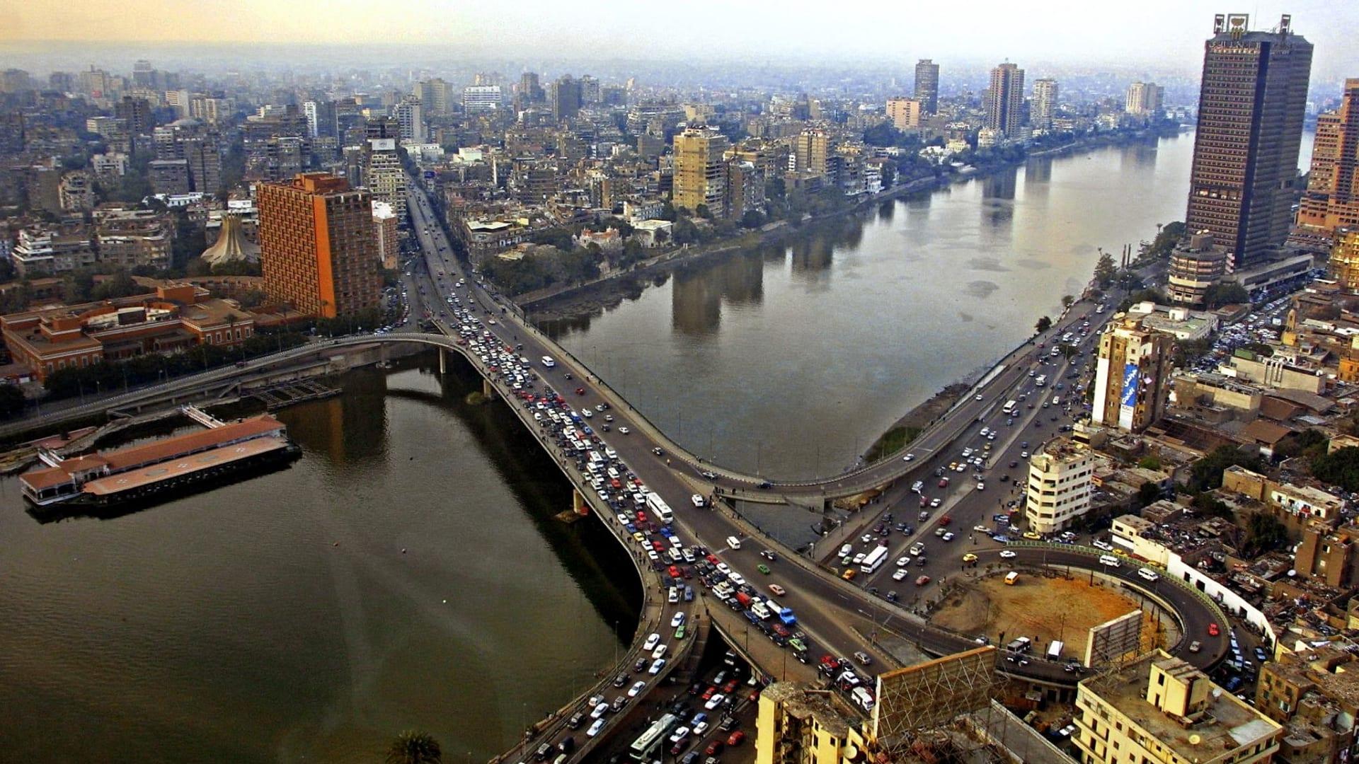 صورة أرشيفية عامة للعاصمة المصرية القاهرة