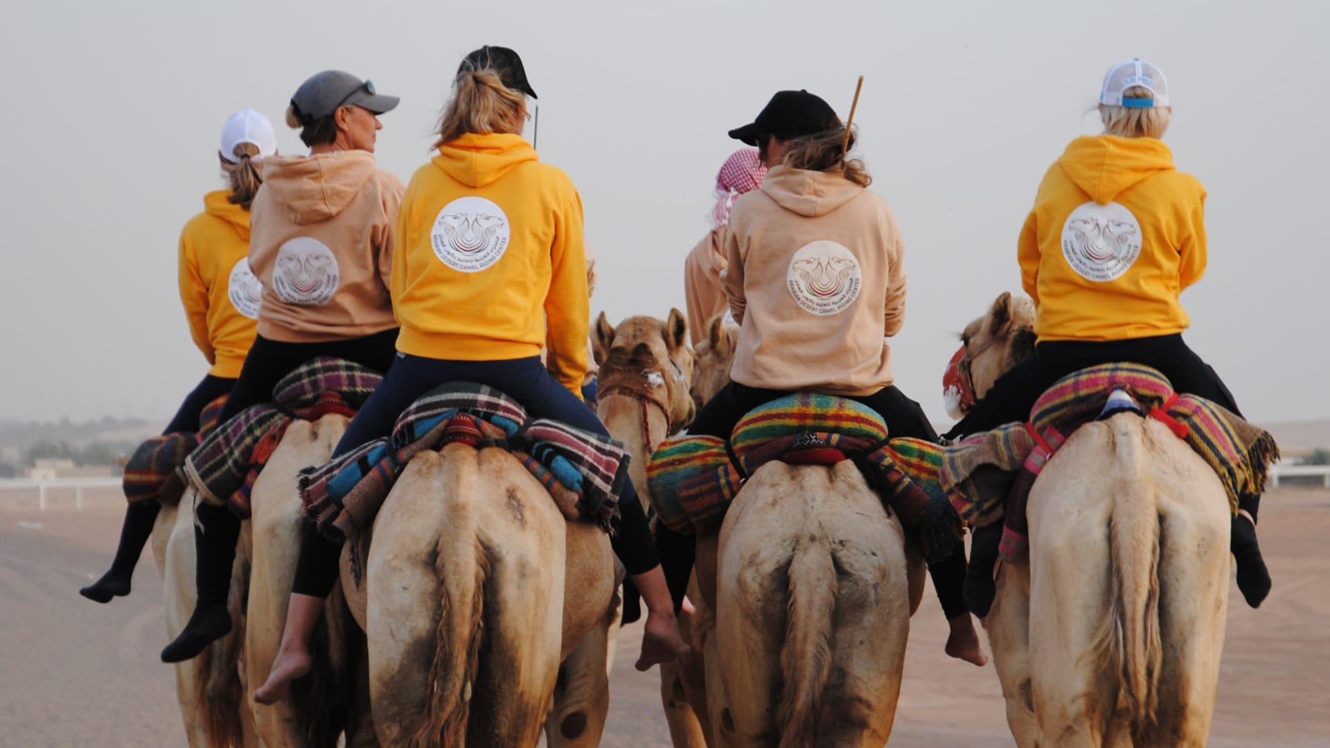 مركز الصحراء العربية لتعليم ركوب الهجن في الإمارات