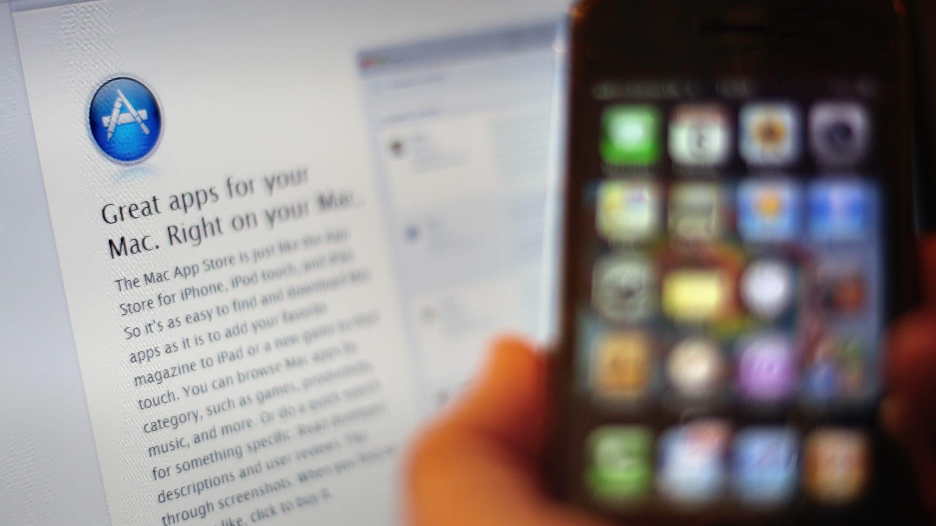 """المملكة المتحدة تفتح تحقيقاً في ممارسات متجر تطبيقات """"آبل"""""""