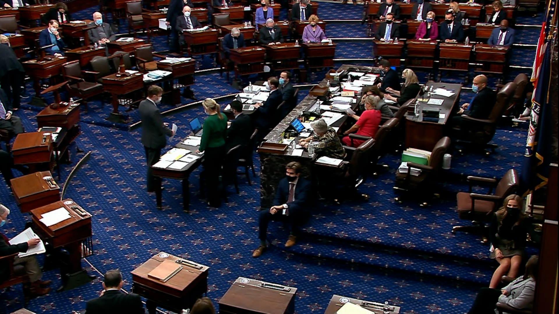 مجلس الشيوخ الأمريكي يقر خطة بايدن لتحفيز الاقتصاد المقدرة بقيمة 1.9 تريليون دولار