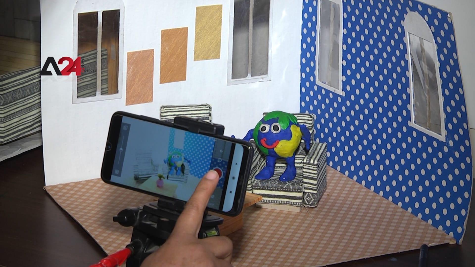فتيات صم في غزة يستخدمن أفلام كرتونية صامتة لمناقشة القضايا المهمة في مجتمعاتهن