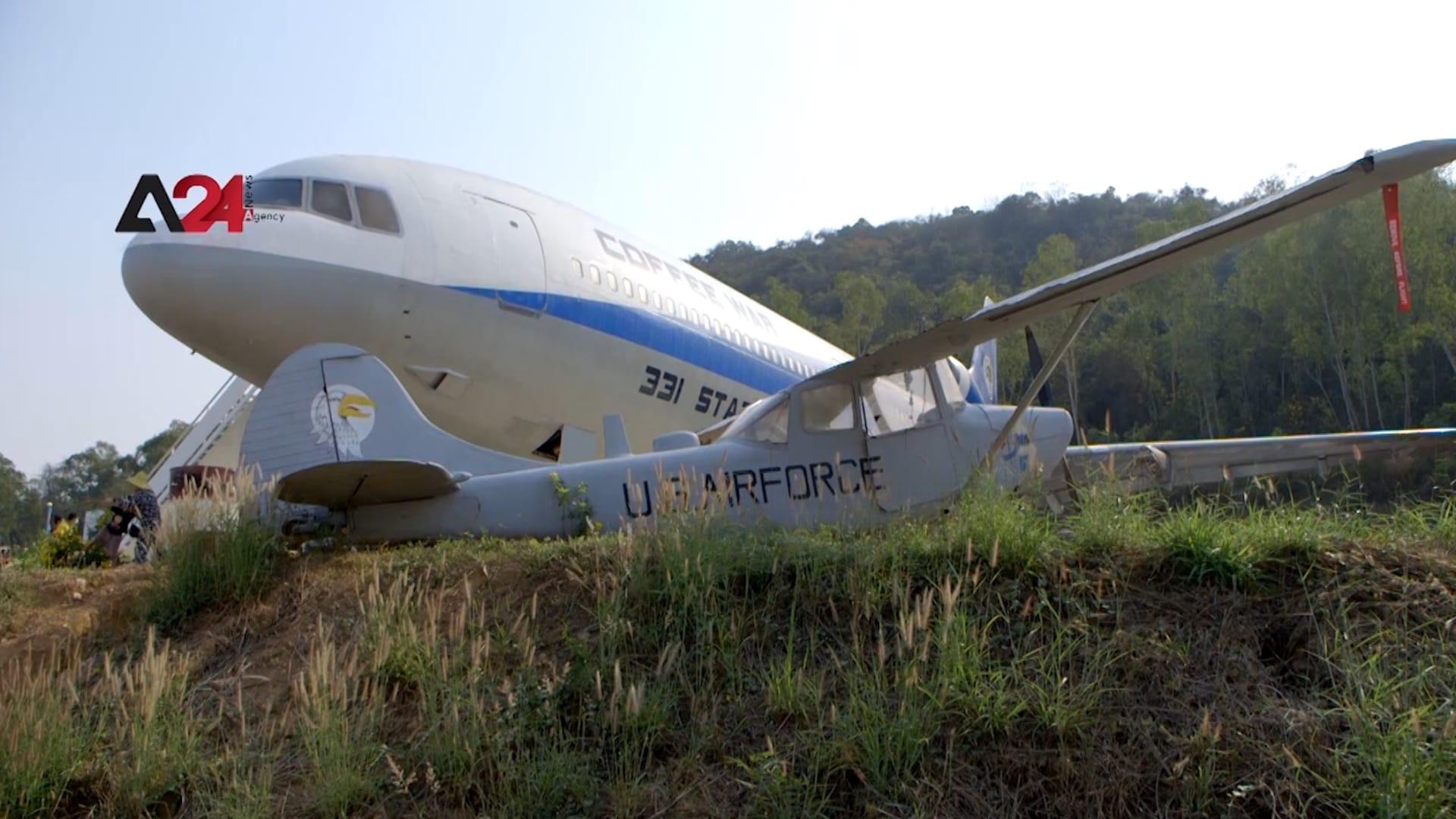 ركابها لا يريدون التحليق.. طائرات مهجورة تحيط بها مركبات عسكرية.. ما قصتها؟