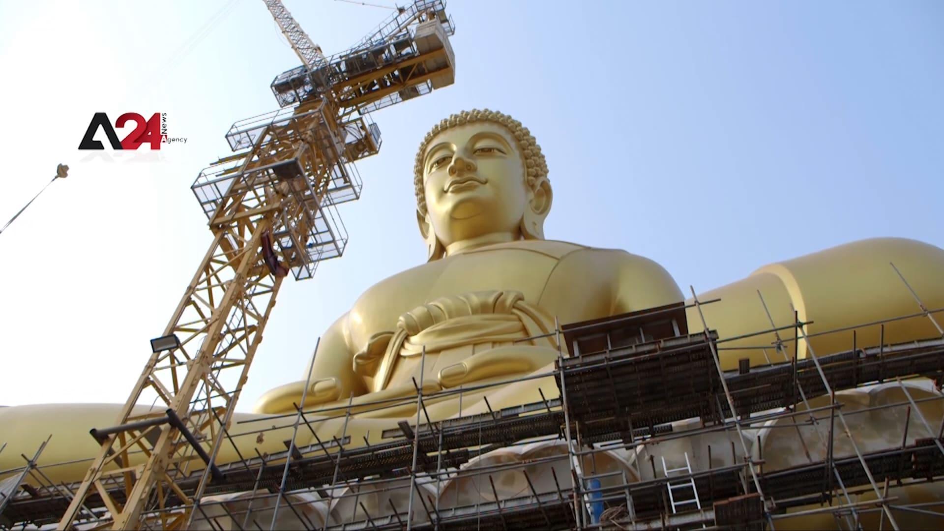بأكثر من 16 مليون دولار.. بناء تمثال ضخم لبوذا في تايلاند