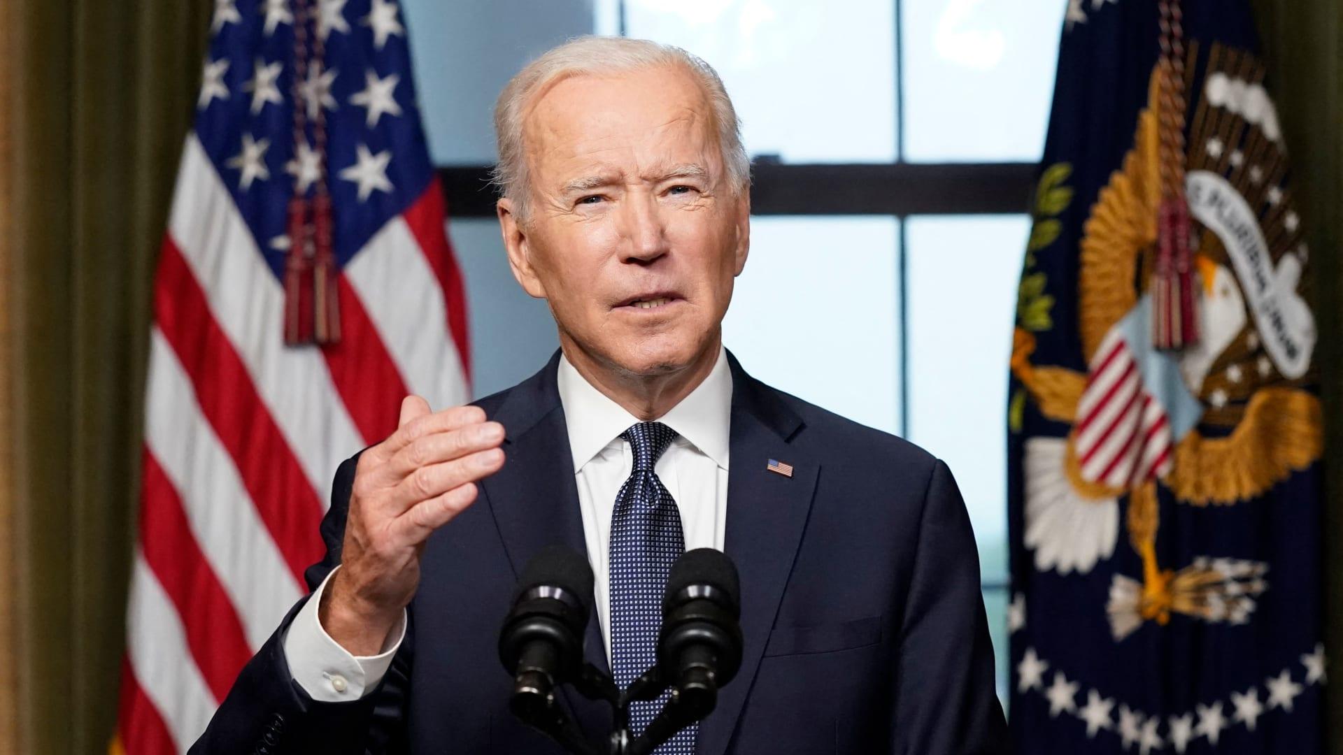 """بايدن يعلن إنهاء """"أطول حرب"""" لأمريكا.. وسحب قواتها من أفغانستان بحلول 11 سبتمبر"""