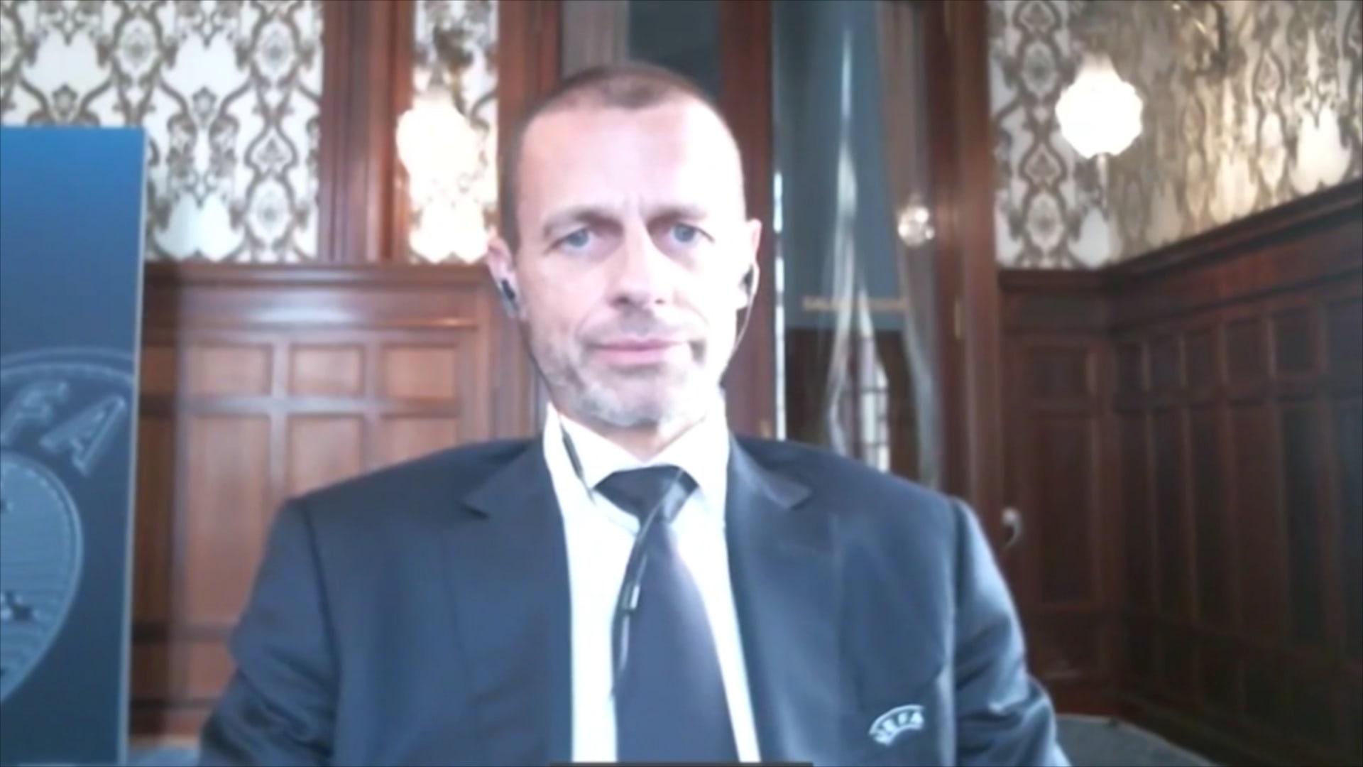 رئيس الاتحاد الأوروبي لكرة القدم لـCNN: أنييلي لم يجب على اتصالاتي