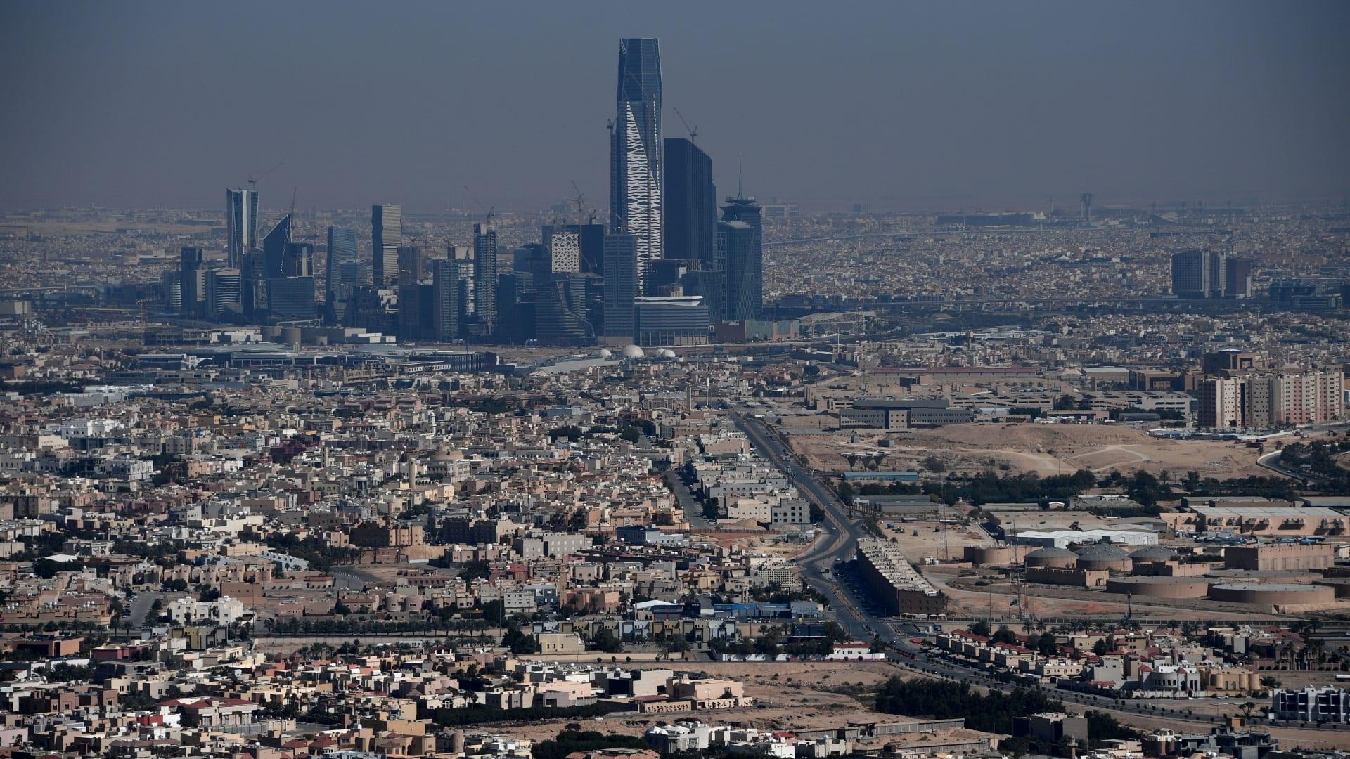 صورة أرشيفية عامة للعاصمة السعودية الرياض