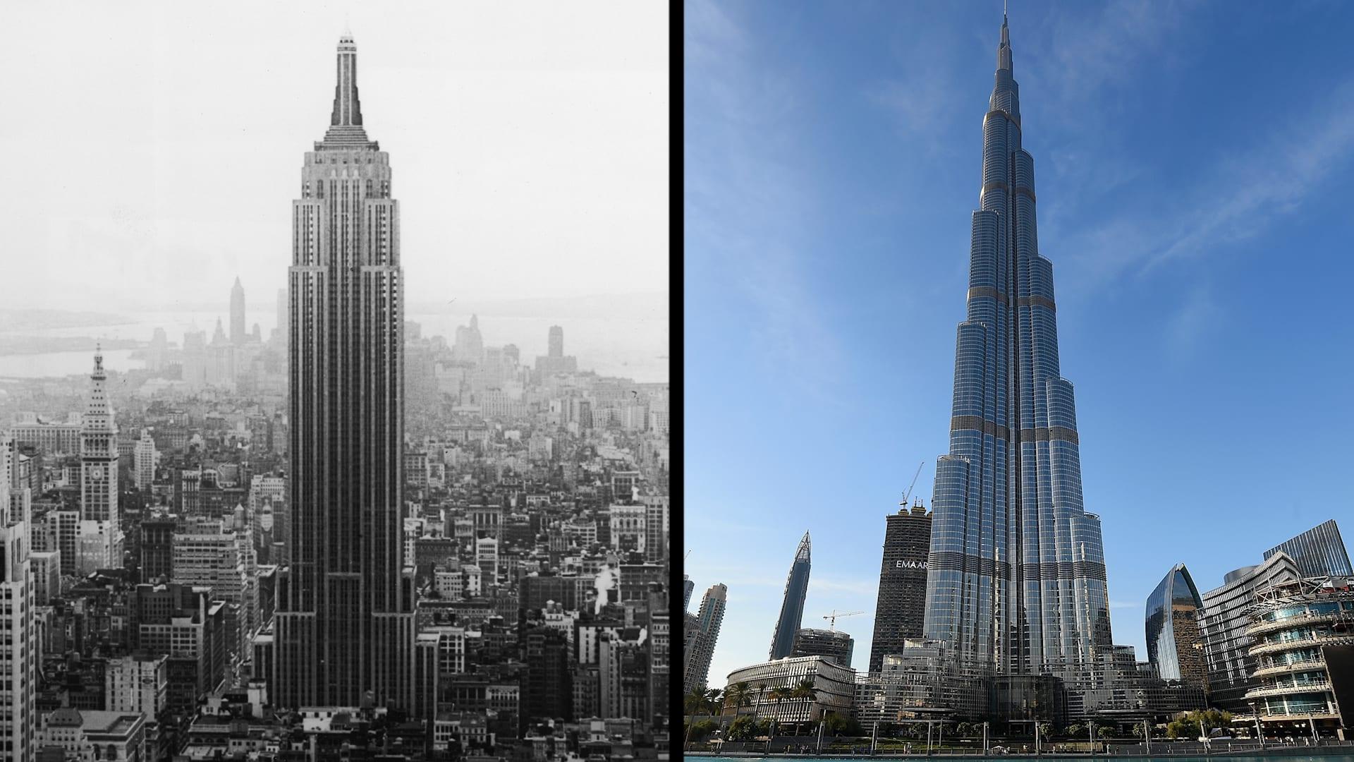 من برج خليفة إلى إمباير ستيت.. إليكم تاريخ ناطحات السحاب والسباق نحو السماء