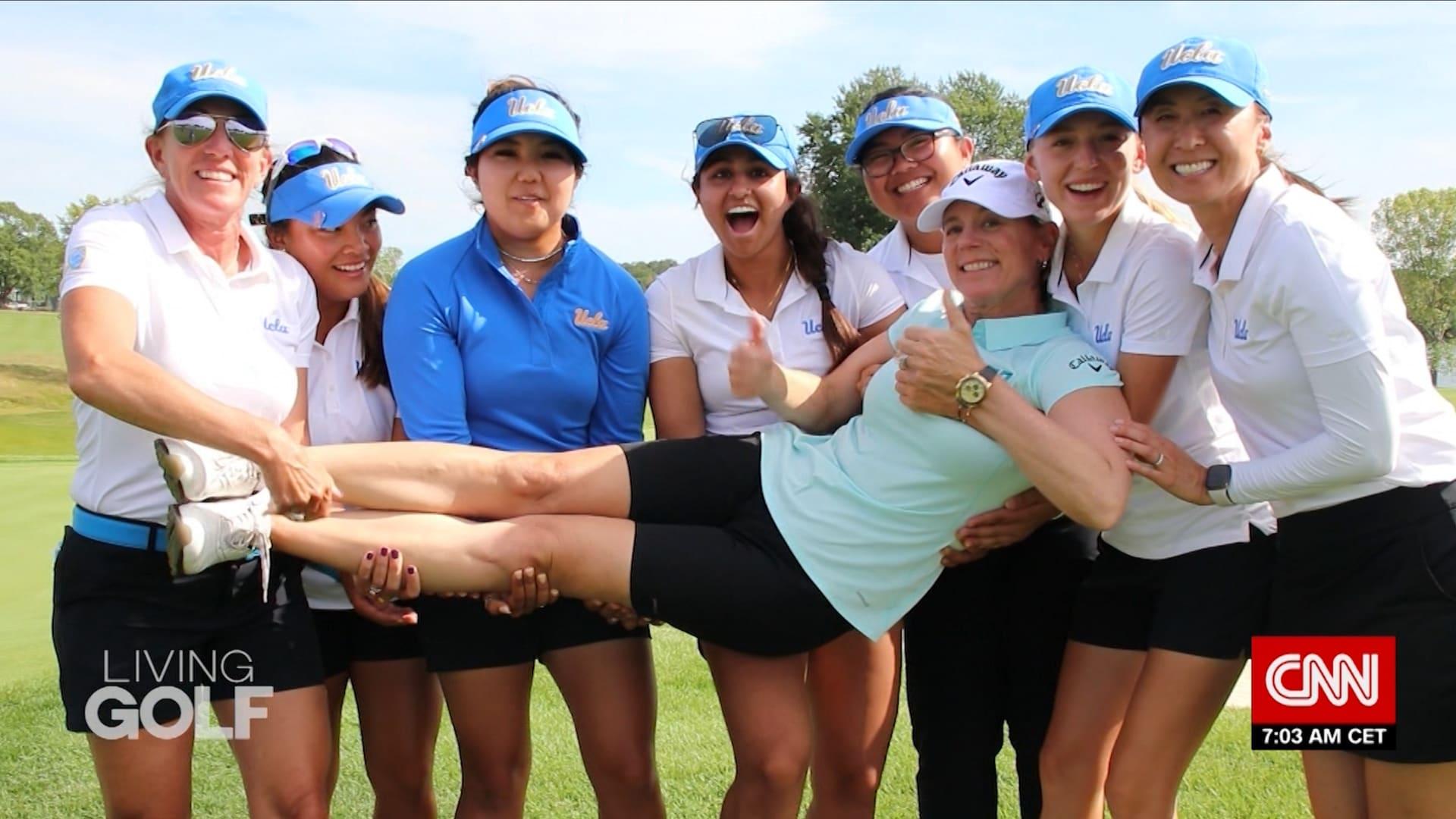 واحدة من الشخصيات الأكثر شهرة في تاريخ لعبة غولف.. أنيكا سورينستام تخلق فرص للجيل القادم من لاعبات الغولف