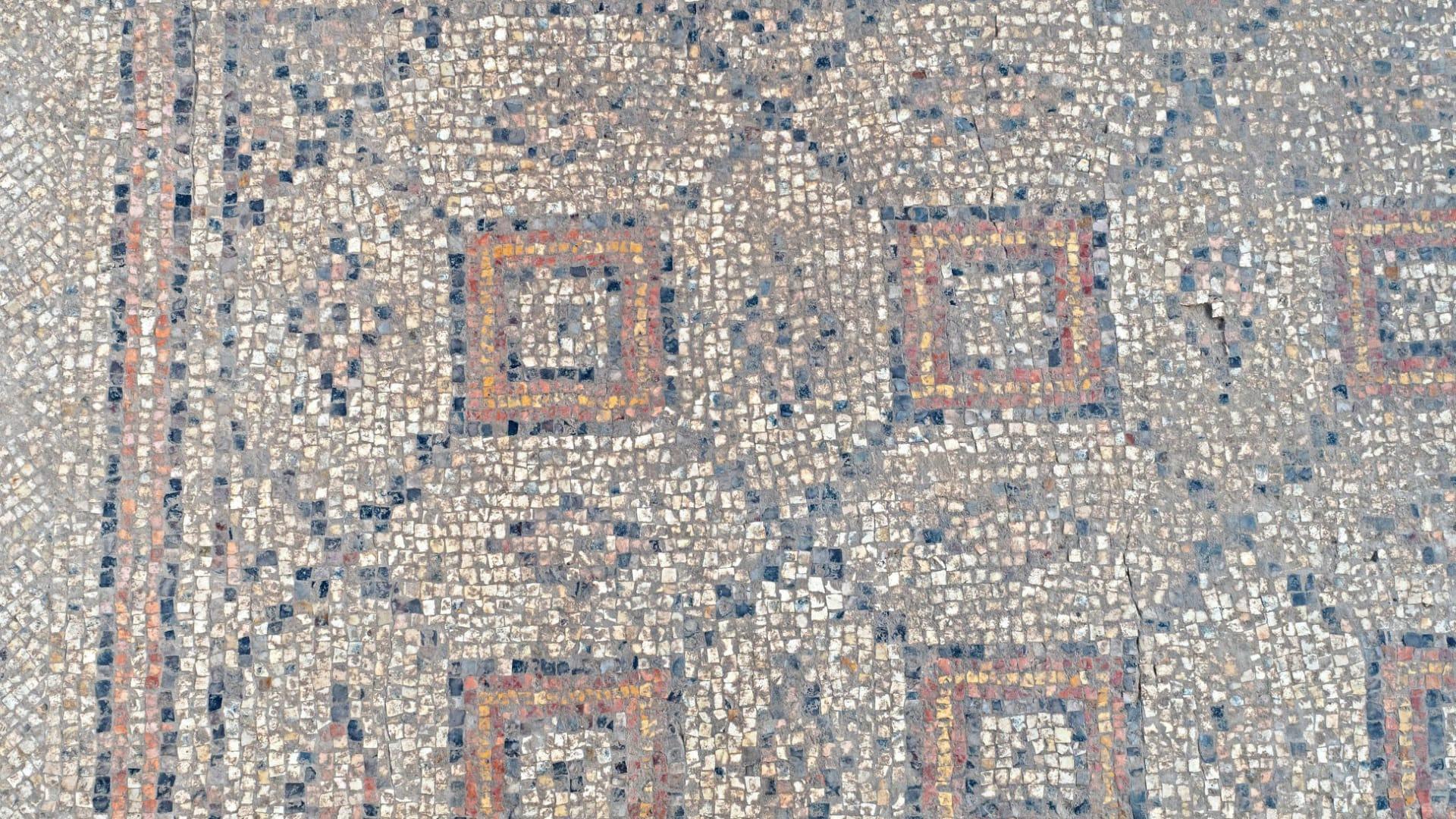 محفوظة بشكل جيد.. علماء آثار يكتشفون فسيفساء عمرها 1،600 عام في إسرائيل