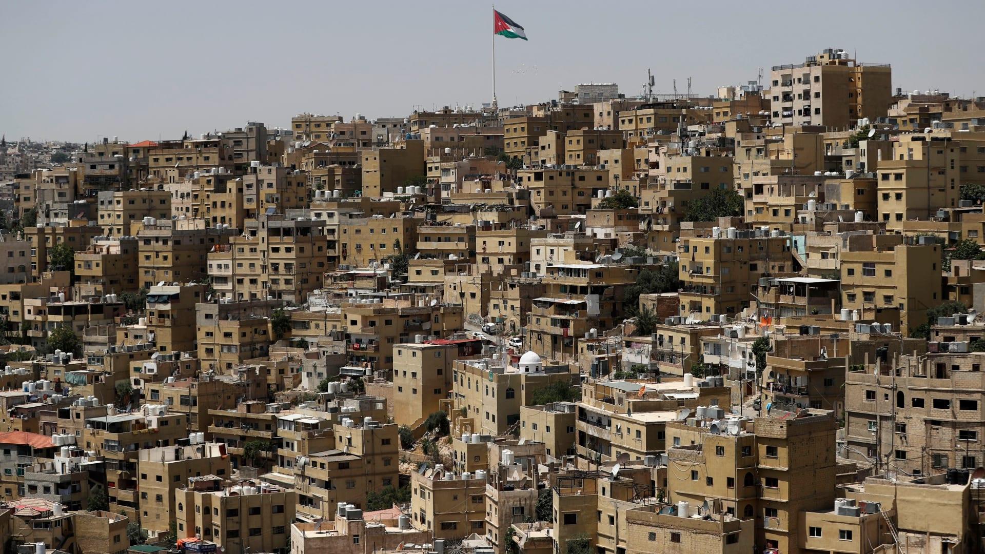 صورة أرشيفية عامة من العاصمة الأردنية، عمان