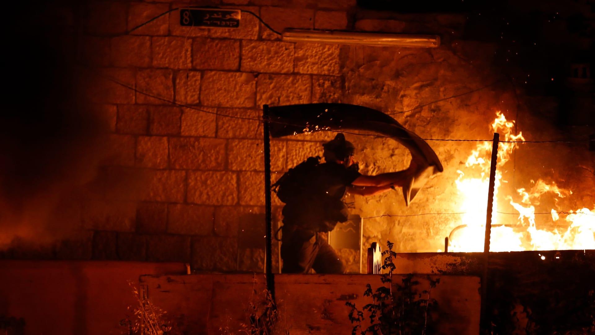 """إسرائيل: اعتقال 15 شخصا بعد أحداث """"الشيخ جراح"""""""
