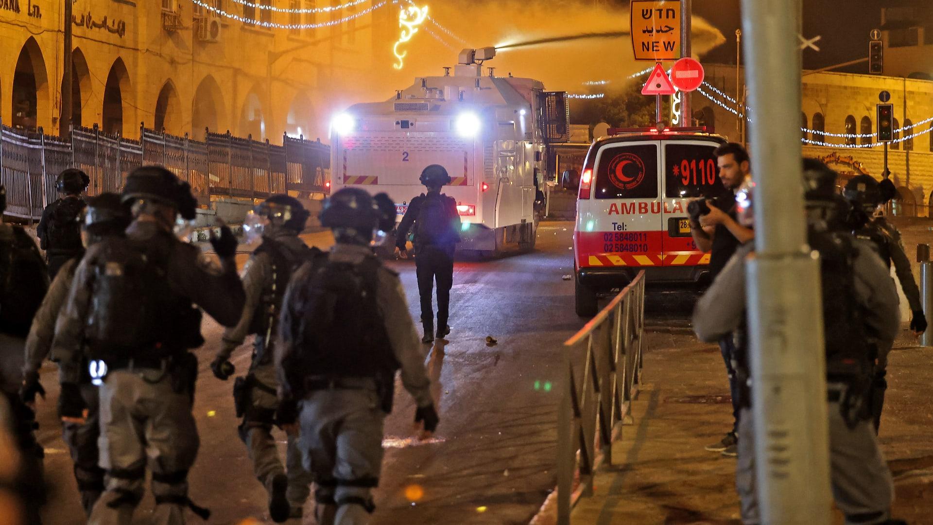 عناصر من الأمن الإسرائيلي في القدس