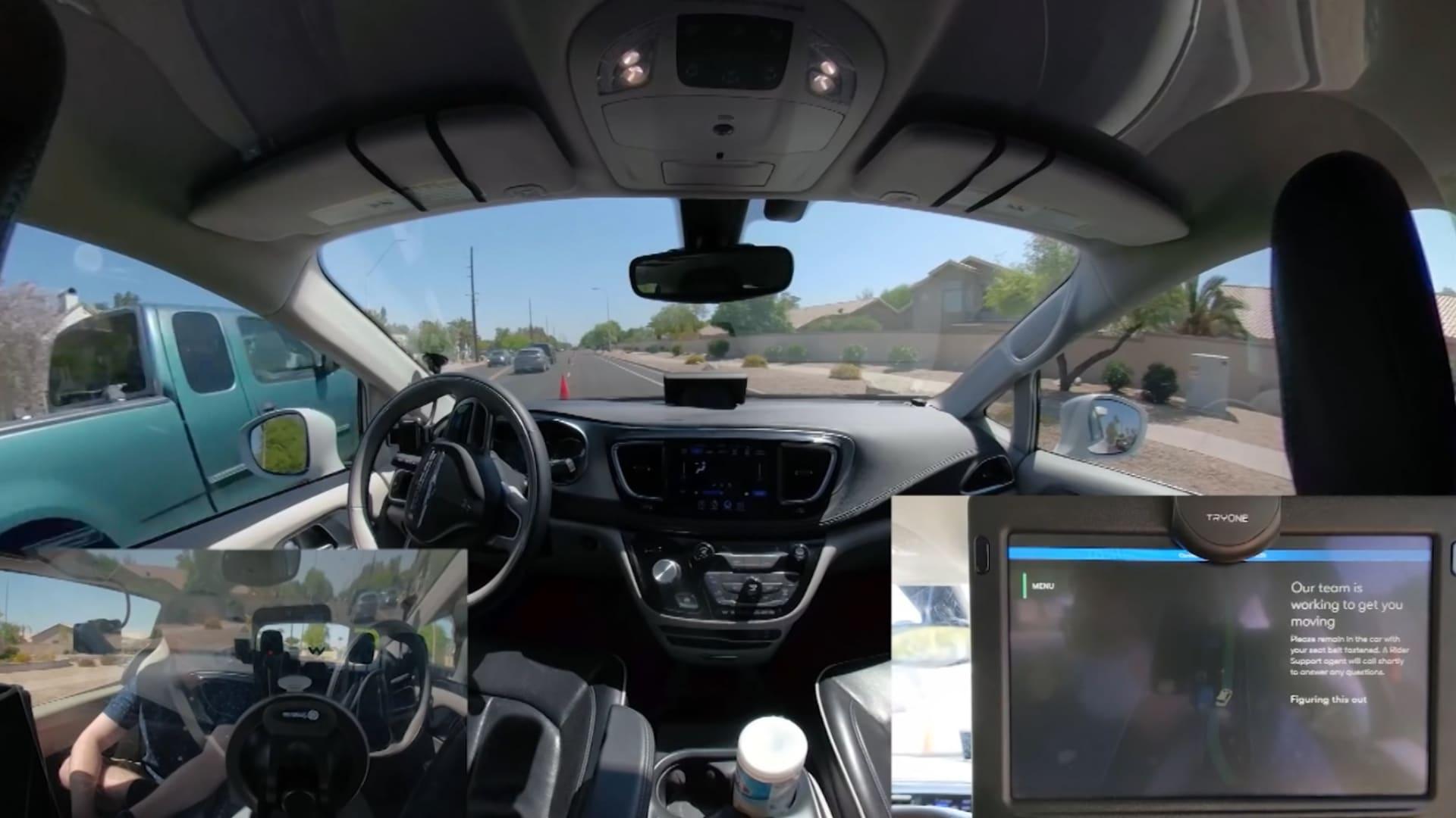 سيارة أجرة ذاتية القيادة ترفض تلقي الإرشادات.. إليكم ما حصل مع راكبها