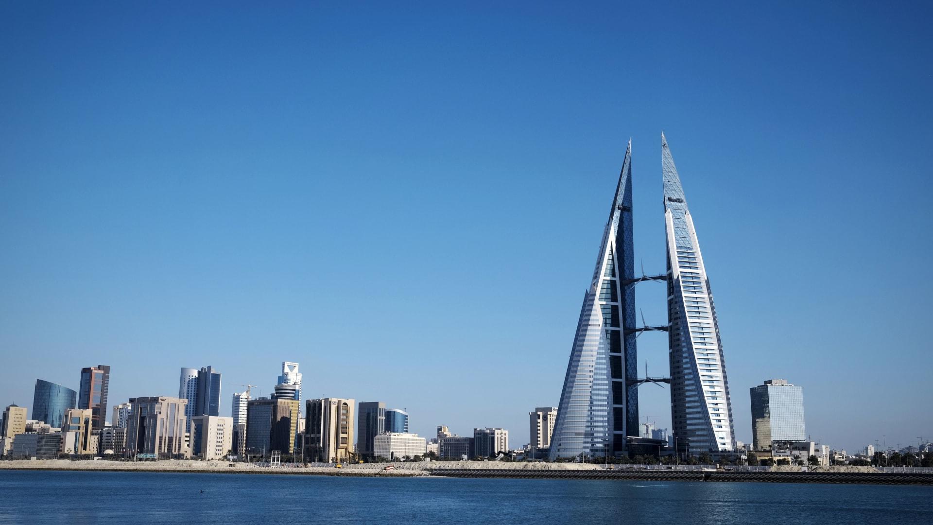 صورة أرشيفية عامة من العاصمة البحرينية المنامة