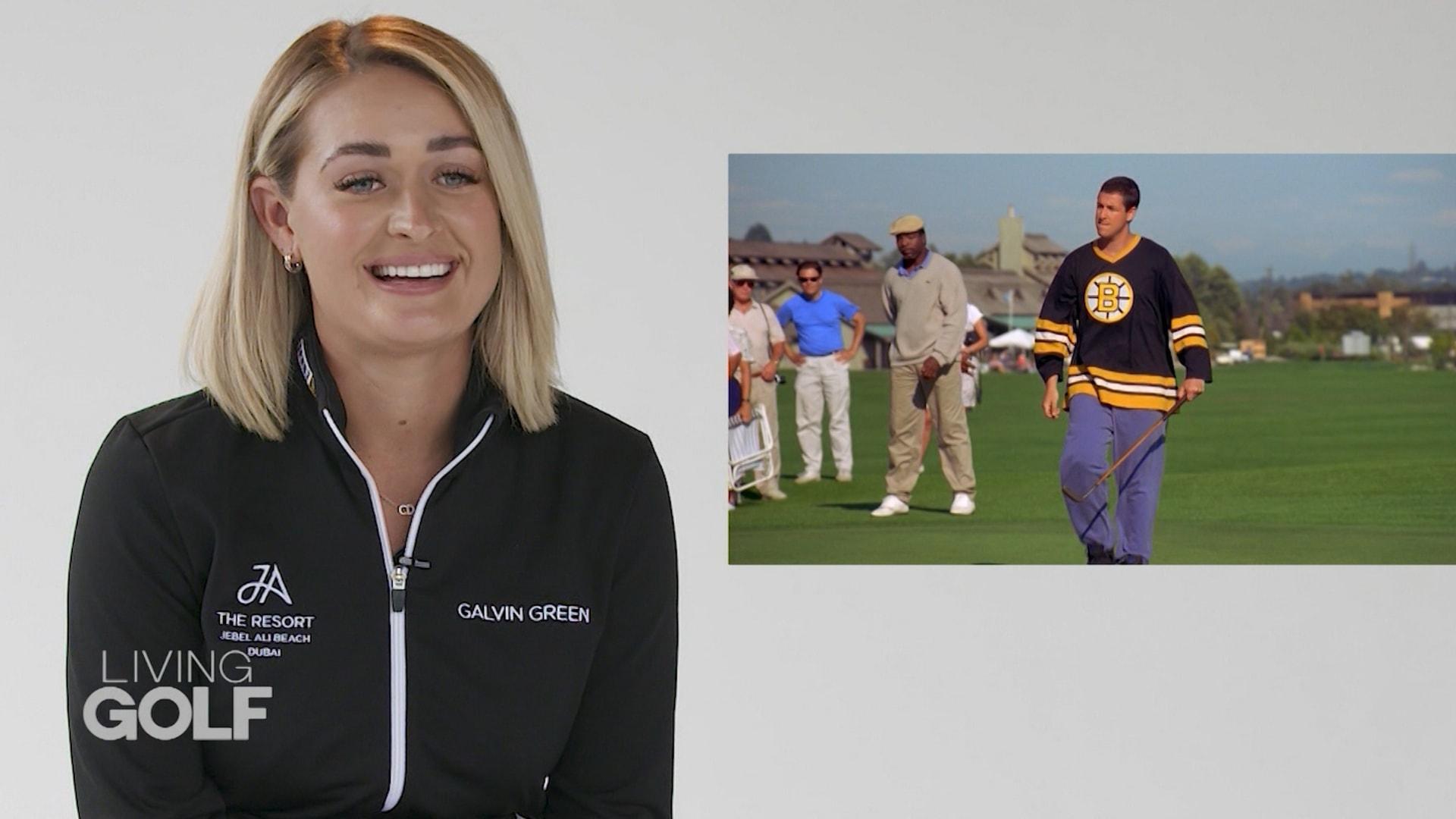 لاعبة تقيم أشهر أفلام الغولف ومدى واقعيتها