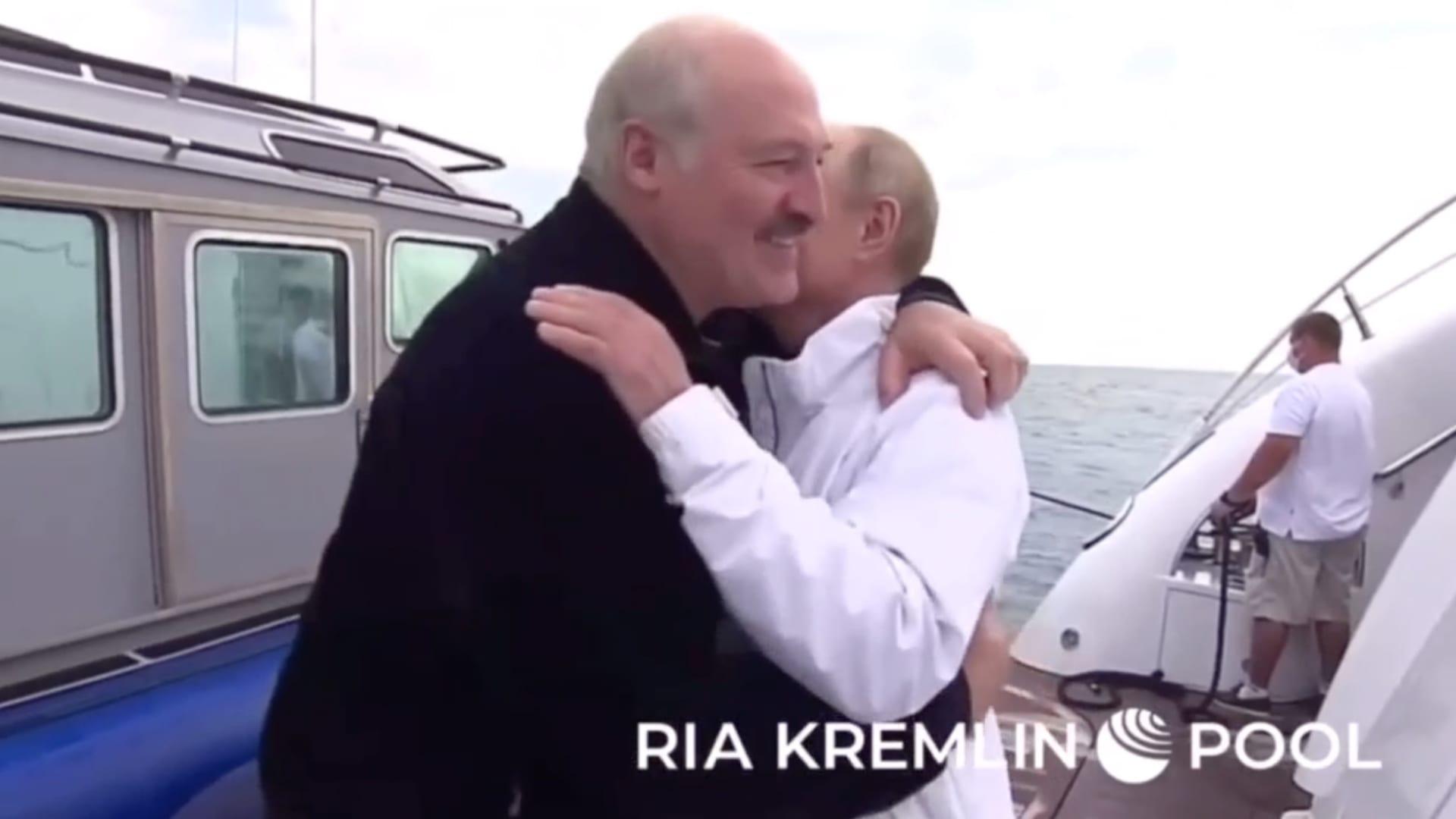 """على متن يخت.. اجتماع """"غير رسمي"""" يعقد بين بوتين ولوكاشينكو في سوتشي"""