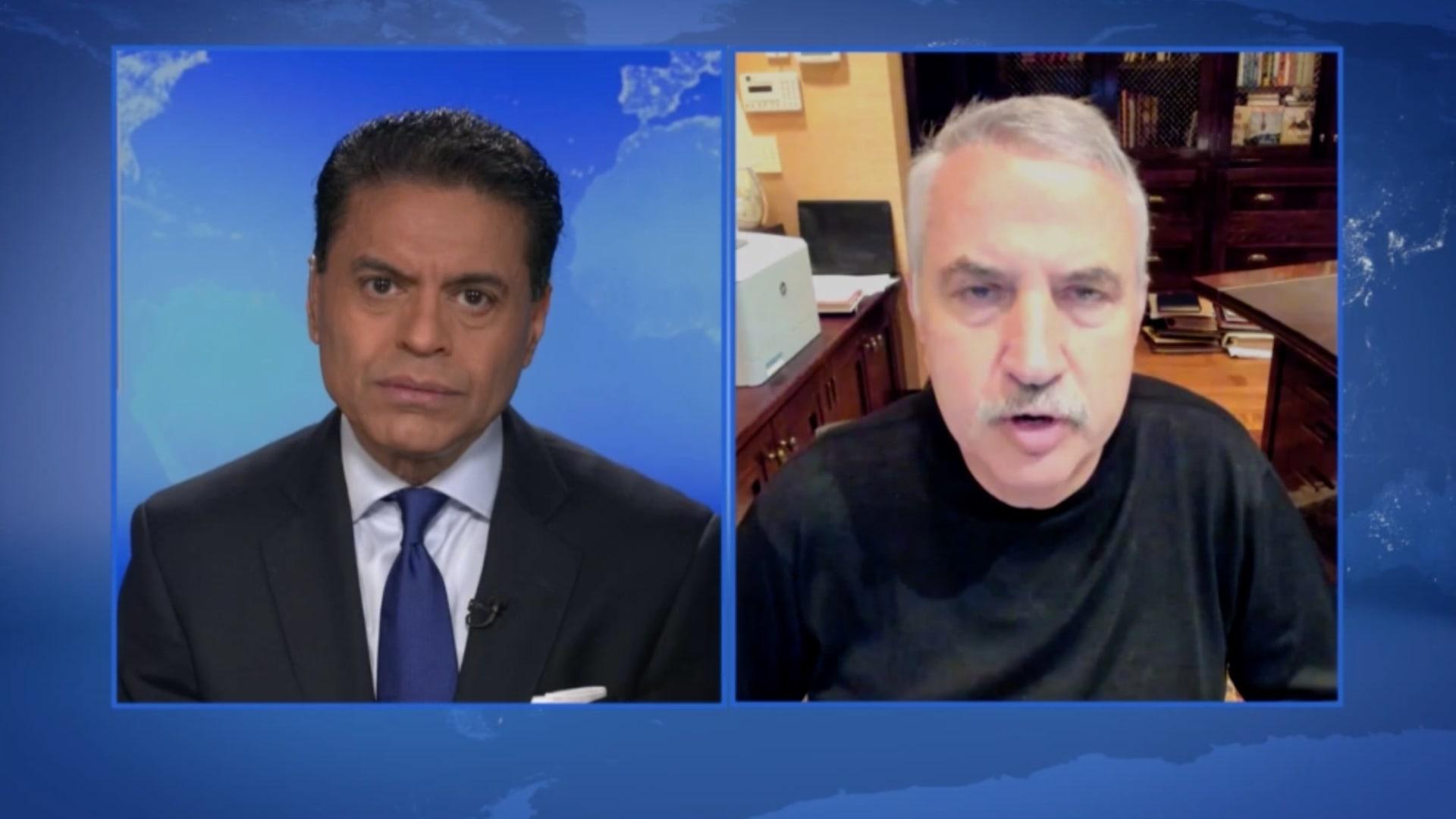 فريدمان لـGPS: ربما نشاهد في جو بايدن.. آخر رئيس ديمقراطي مؤيد لإسرائيل