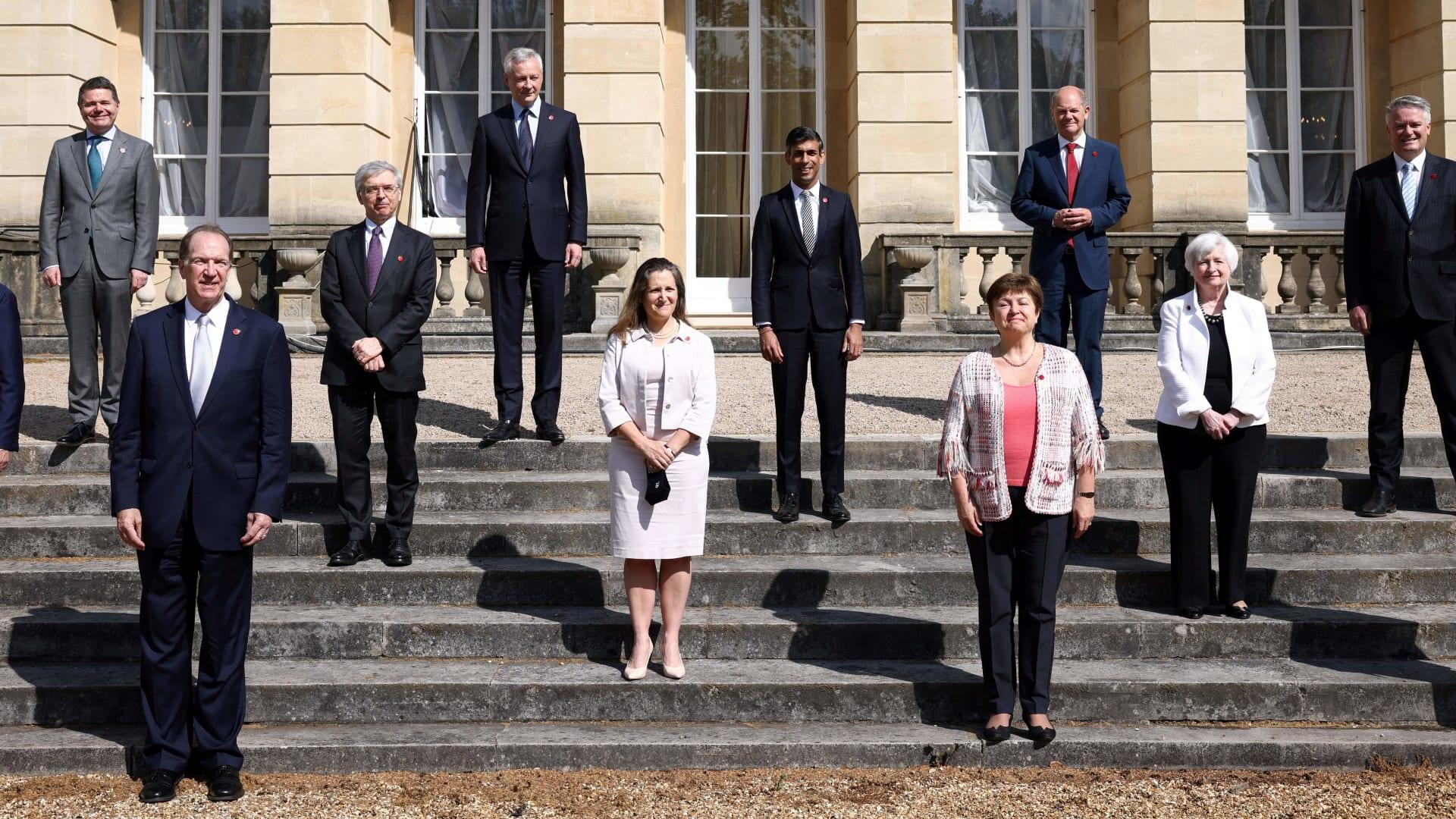 وزراء مالية مجموعة دول السبع