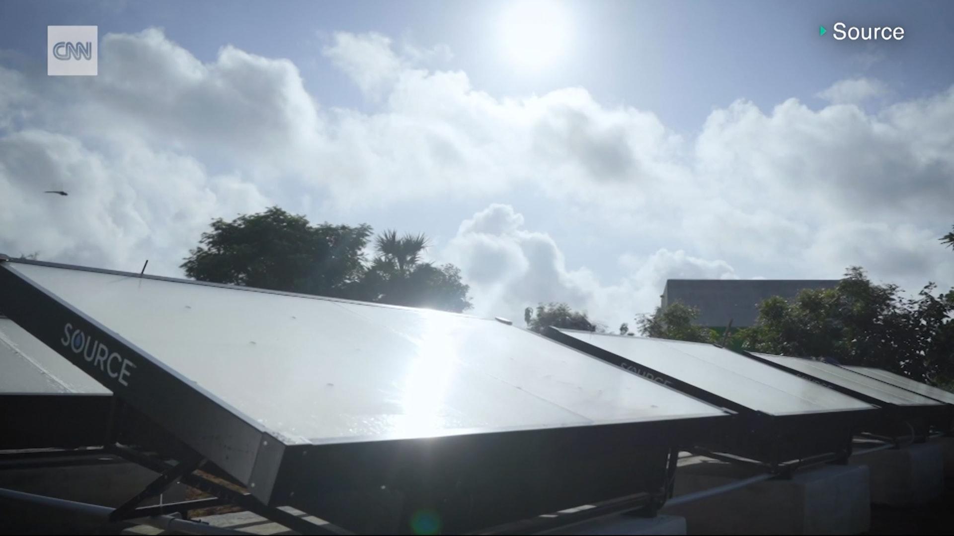 شركة تستخدم طاقة الشمس لتحويل هواء دبي الى مياه الشرب.. كيف تفعل ذلك؟
