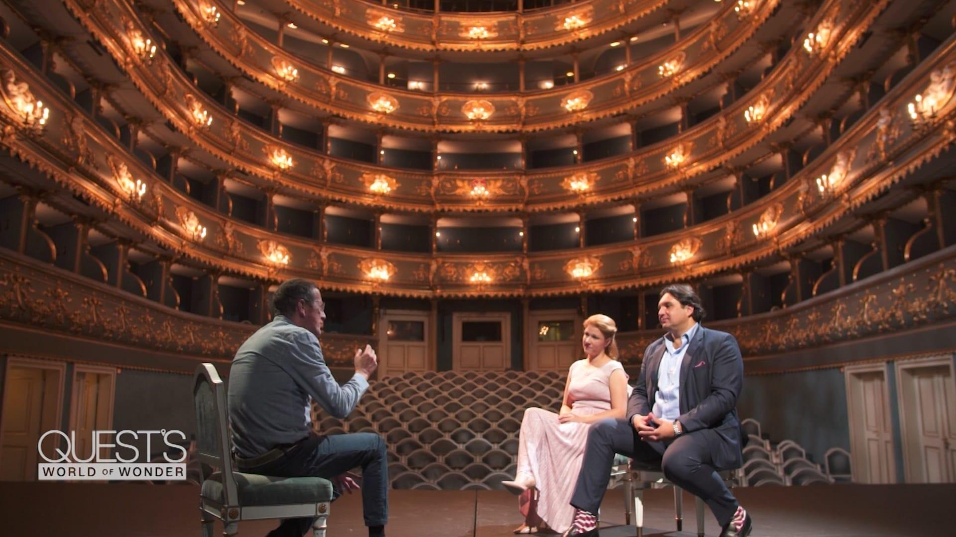 """داخل المسرح الذي افتتحه موزارت بأوبرا """"دون جيوفاني"""" في براغ قبل 200 عام"""