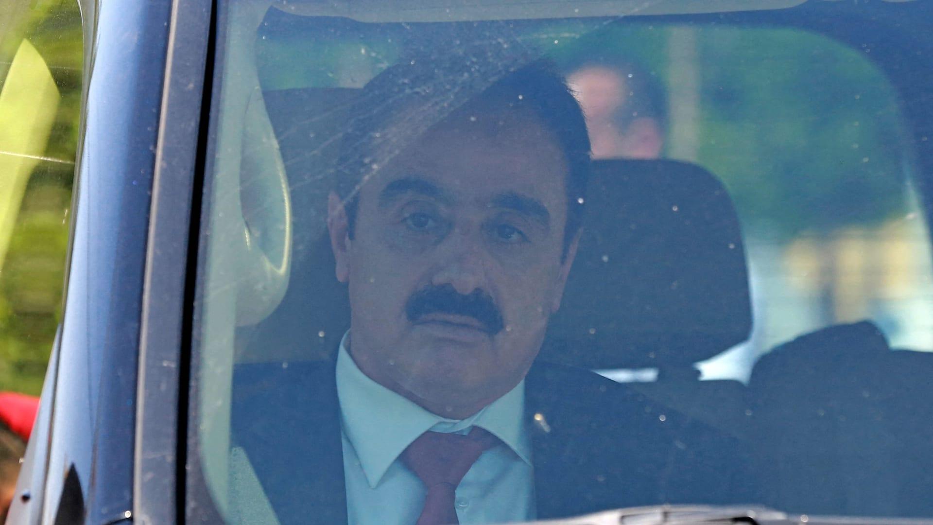 محمد عفيف، محامي باسم عوض الله