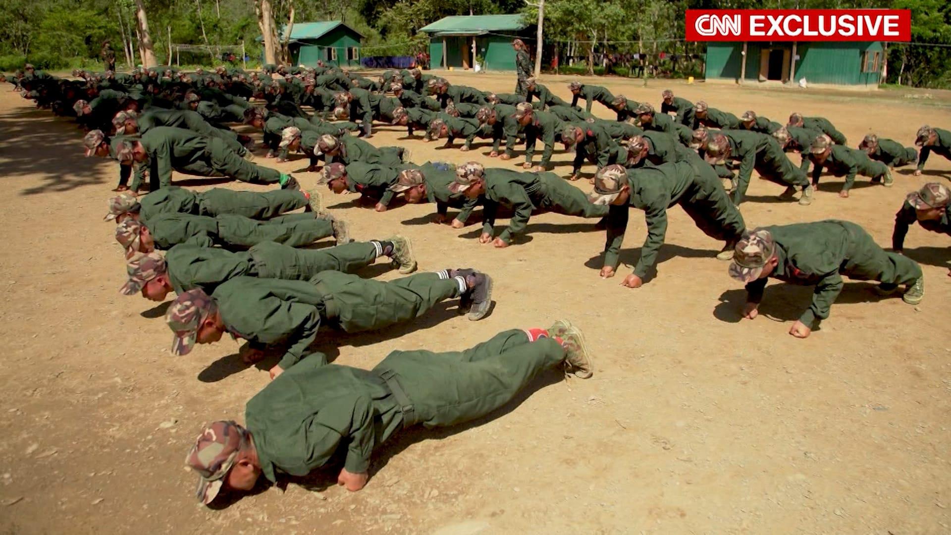 حصري لـCNN.. هكذا يستعد المتمردون على الانقلاب العسكري في ميانمار للقتال