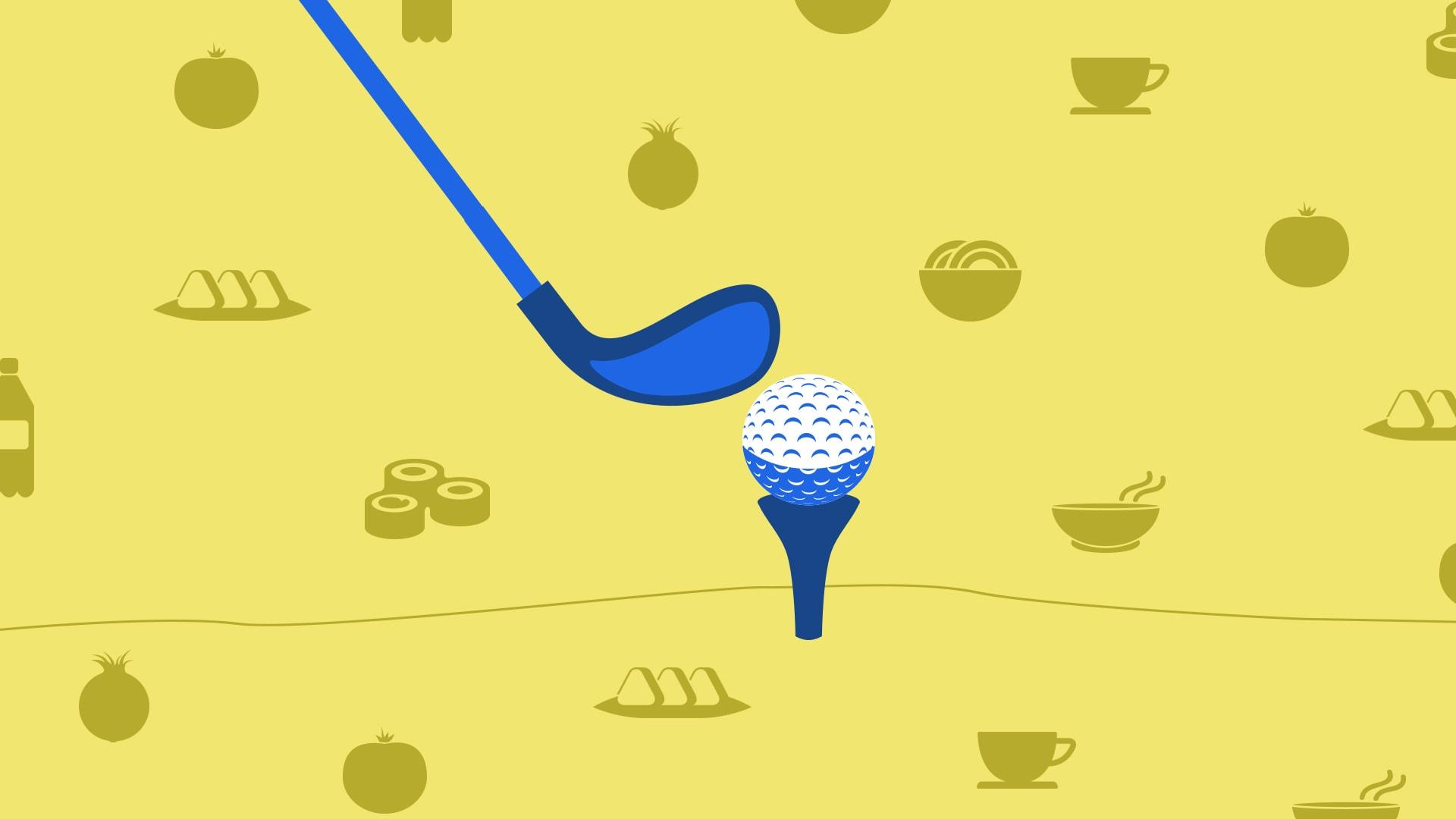 ماذا يمكنك أن تتناول خلال جولة الغولف للحفاظ على طاقتك؟