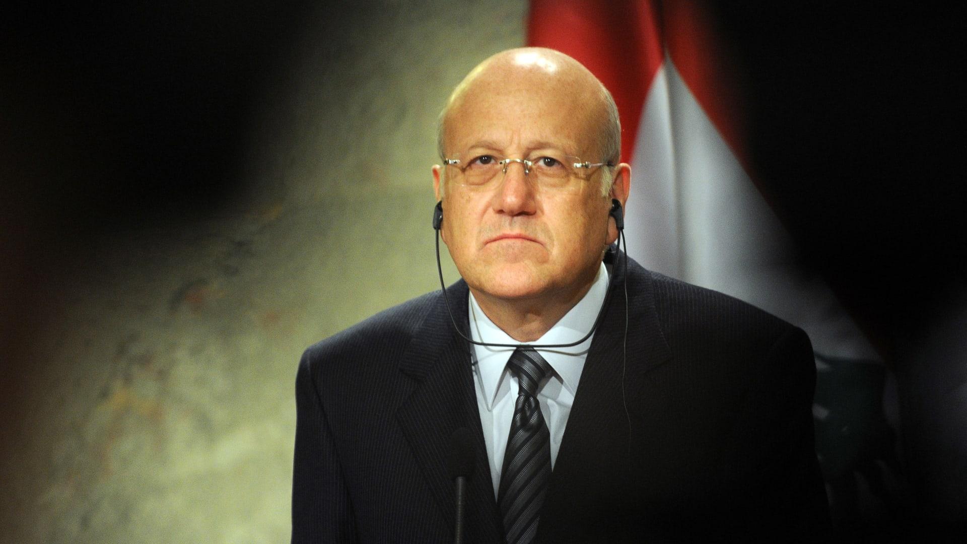 """""""لدي ضمانات خارجية"""".. كلمات نجيب ميقاتي الأولى بعد تسميته رئيس حكومة مكلف في لبنان"""