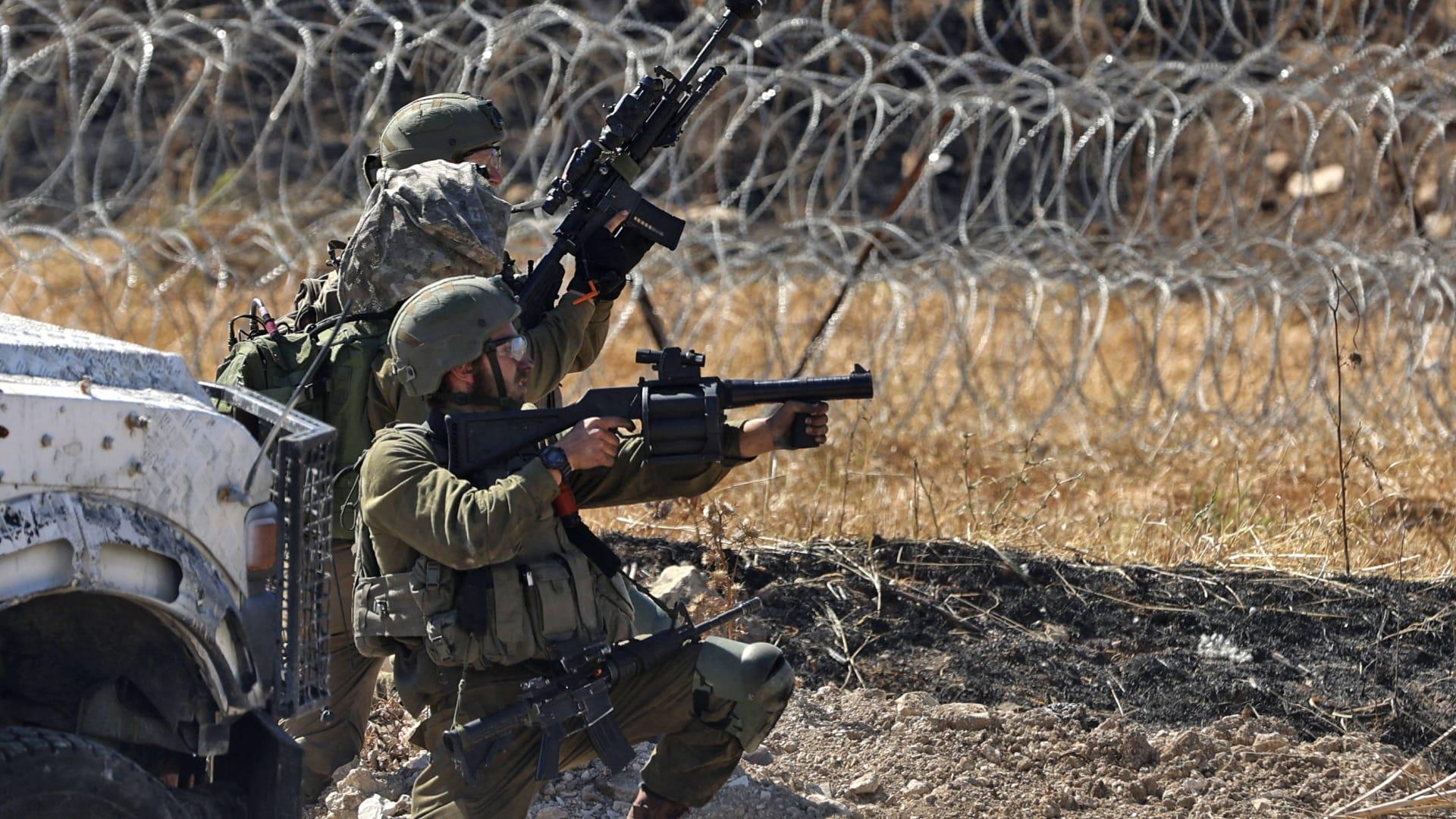 صورة أرشيفية لعناصر بالأمن الإسرائيلي
