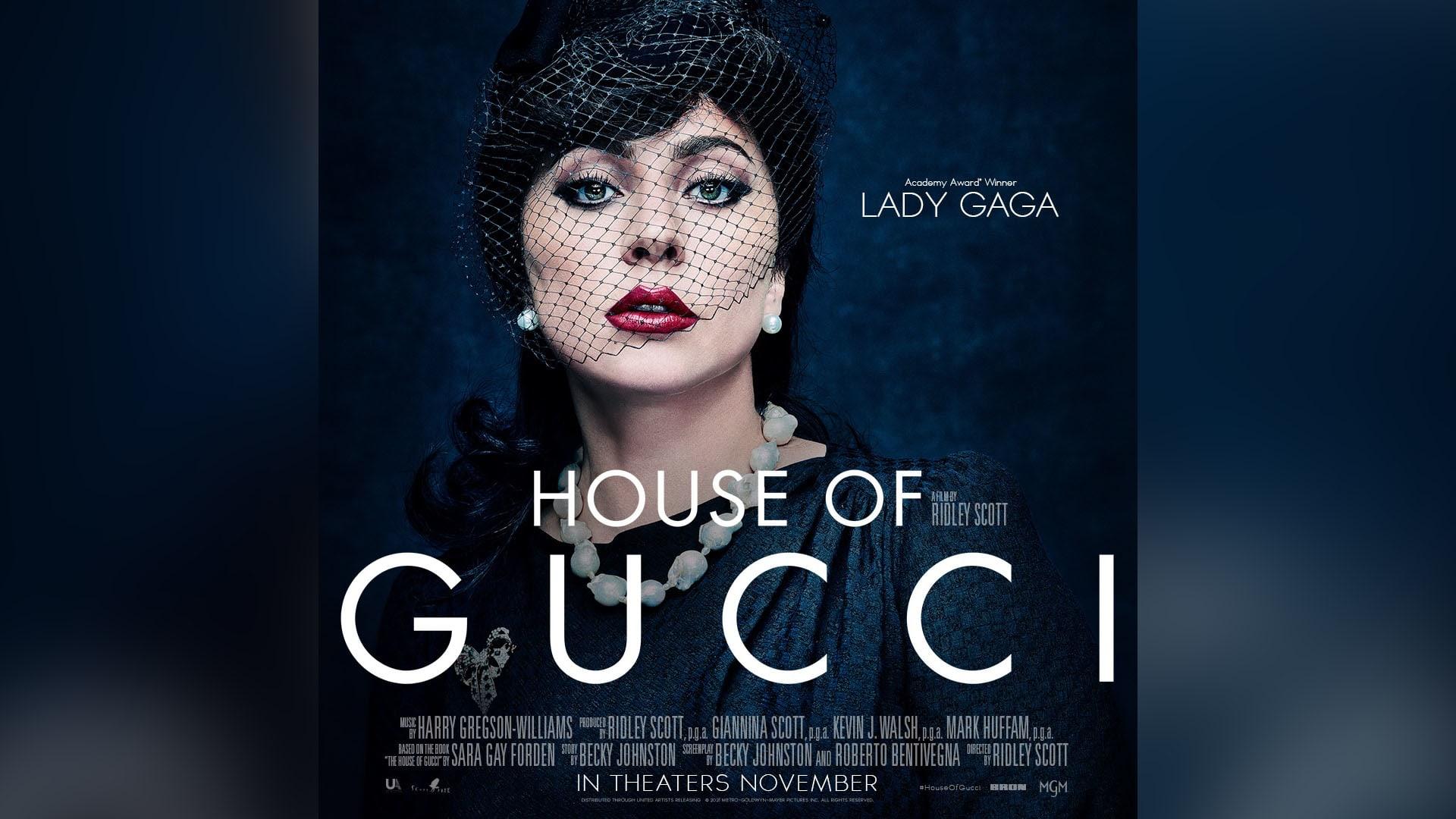 ليدي غاغا كما لم ترونها من قبل في House of Gucci