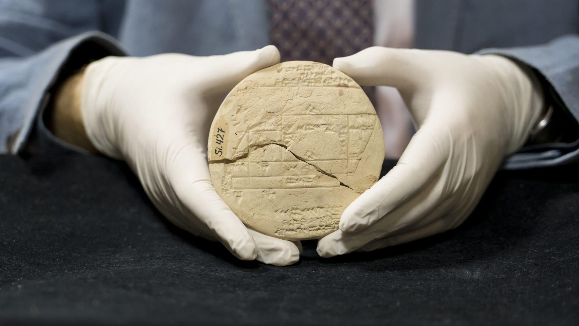 عُثر عليه بالعراق.. الكشف عن أقدم مثال للهندسة التطبيقية بلوح طيني من العصر البابلي