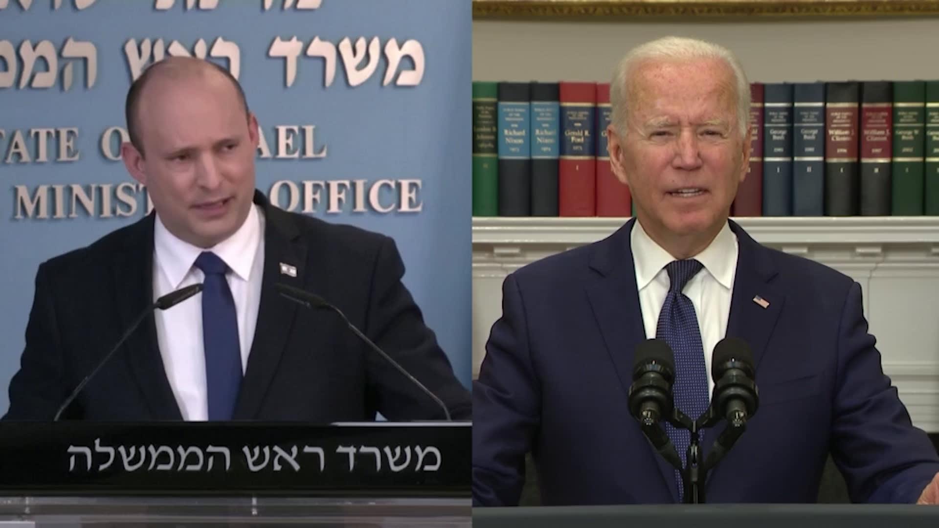 """""""استراتيجية شاملة"""" لمواجهة إيران.. ما أهداف زيارة رئيس وزراء إسرائيل لأمريكا؟"""