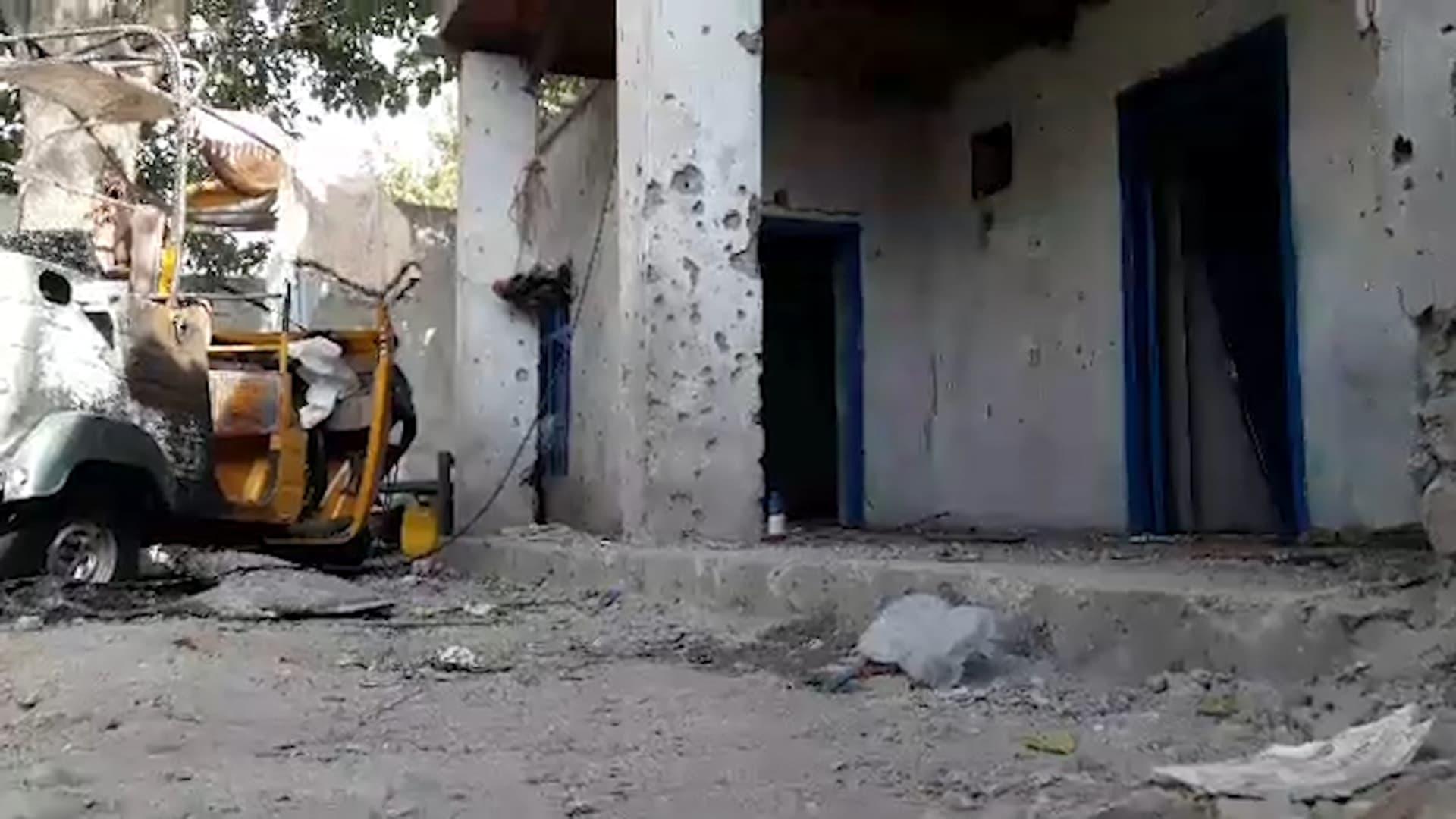شاهد.. لقطات حصرية لآثار الضربة الأمريكية ضد عناصر تنظيم داعش خراسان