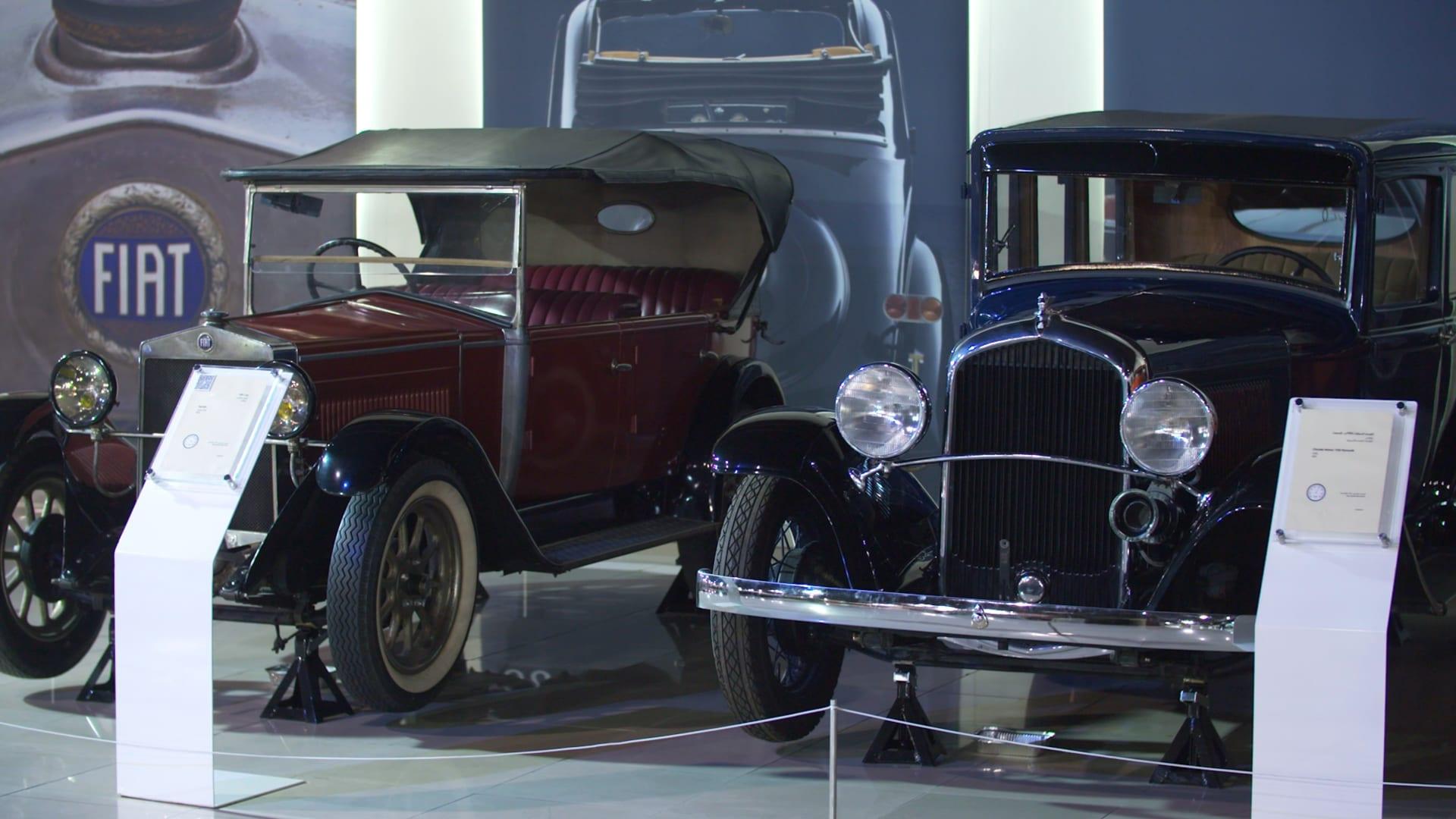 """منها سيارة """"مرسيدس"""" صممت خصيصا لحاكم الشارقة.. إليك ما يمكنك رؤيته في هذا المتحف للسيارات القديمة بالإمارات"""