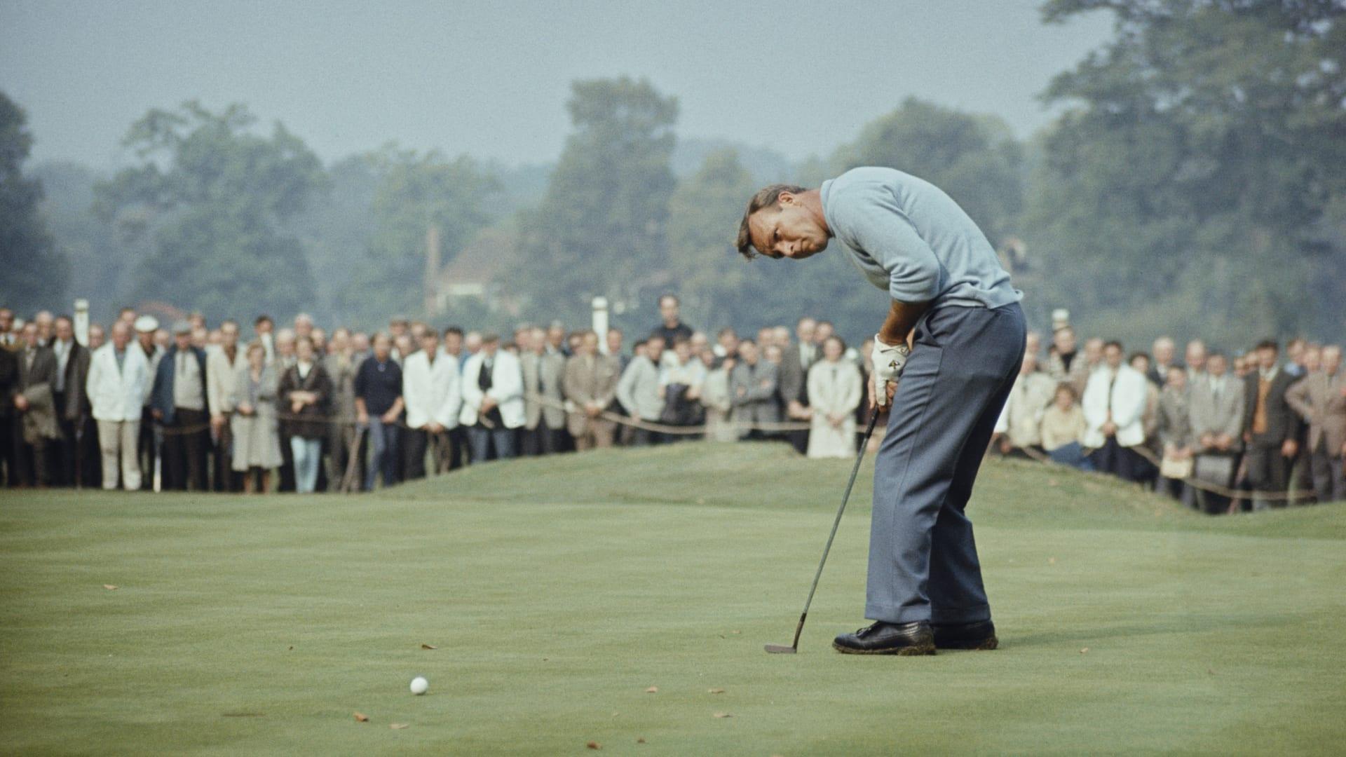 """من نشأته المتواضعة.. هكذا أصبح أسطورة الغولف أرنولد بالمر أحد أول """"المؤثرين الاجتماعيين"""""""