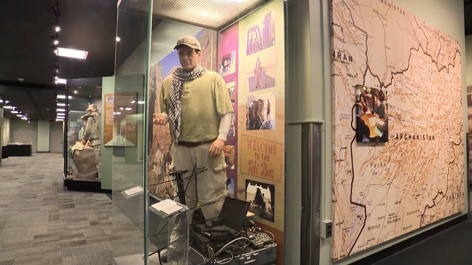 نظرة داخل متحف وكالة المخابرات المركزية في أمريكا