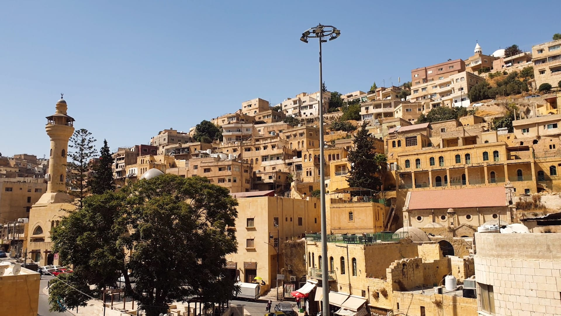 مدينة السلط في الأردن