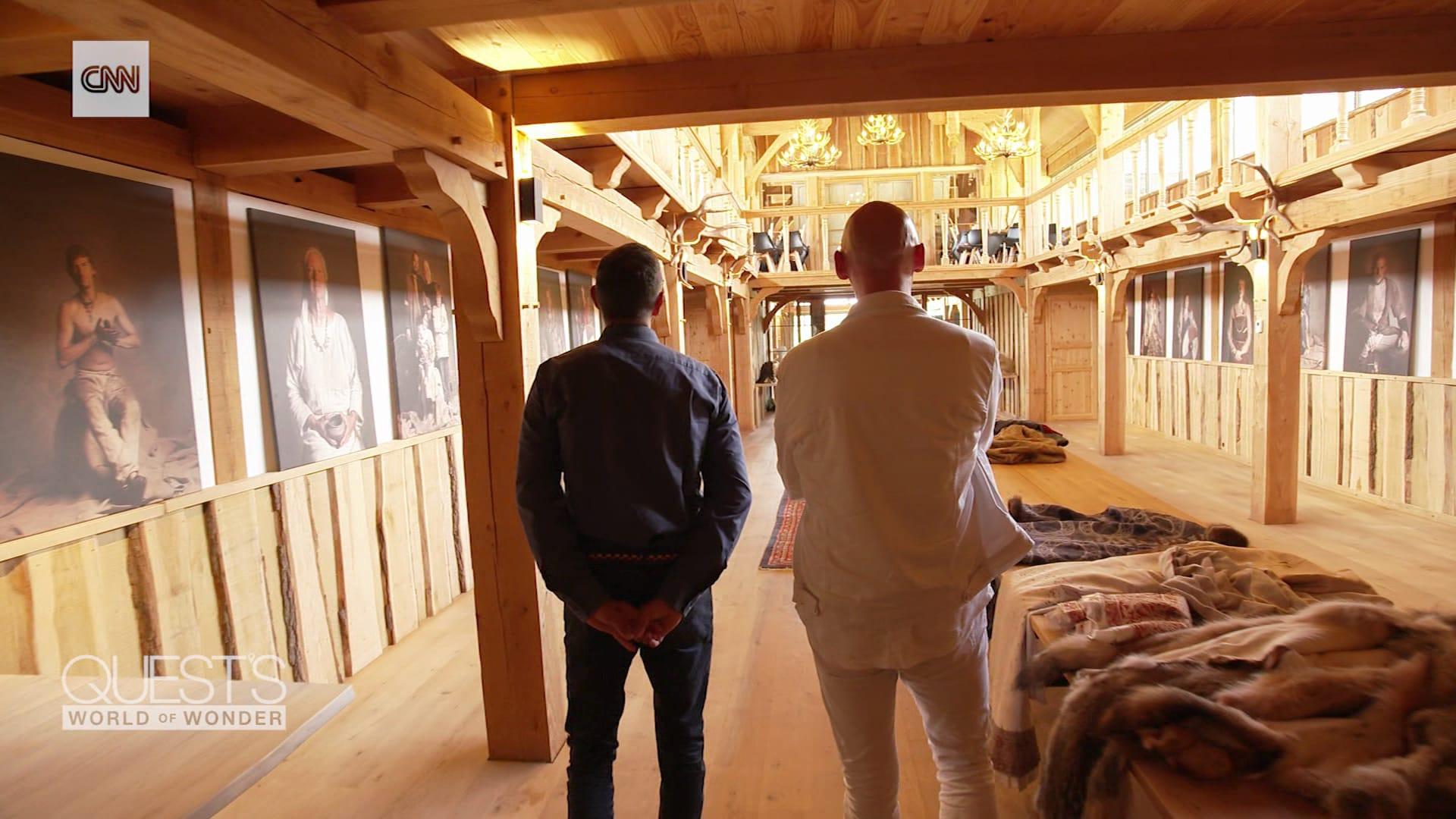داخل عالم أحد ملوك الفايكنغ في الدنمارك