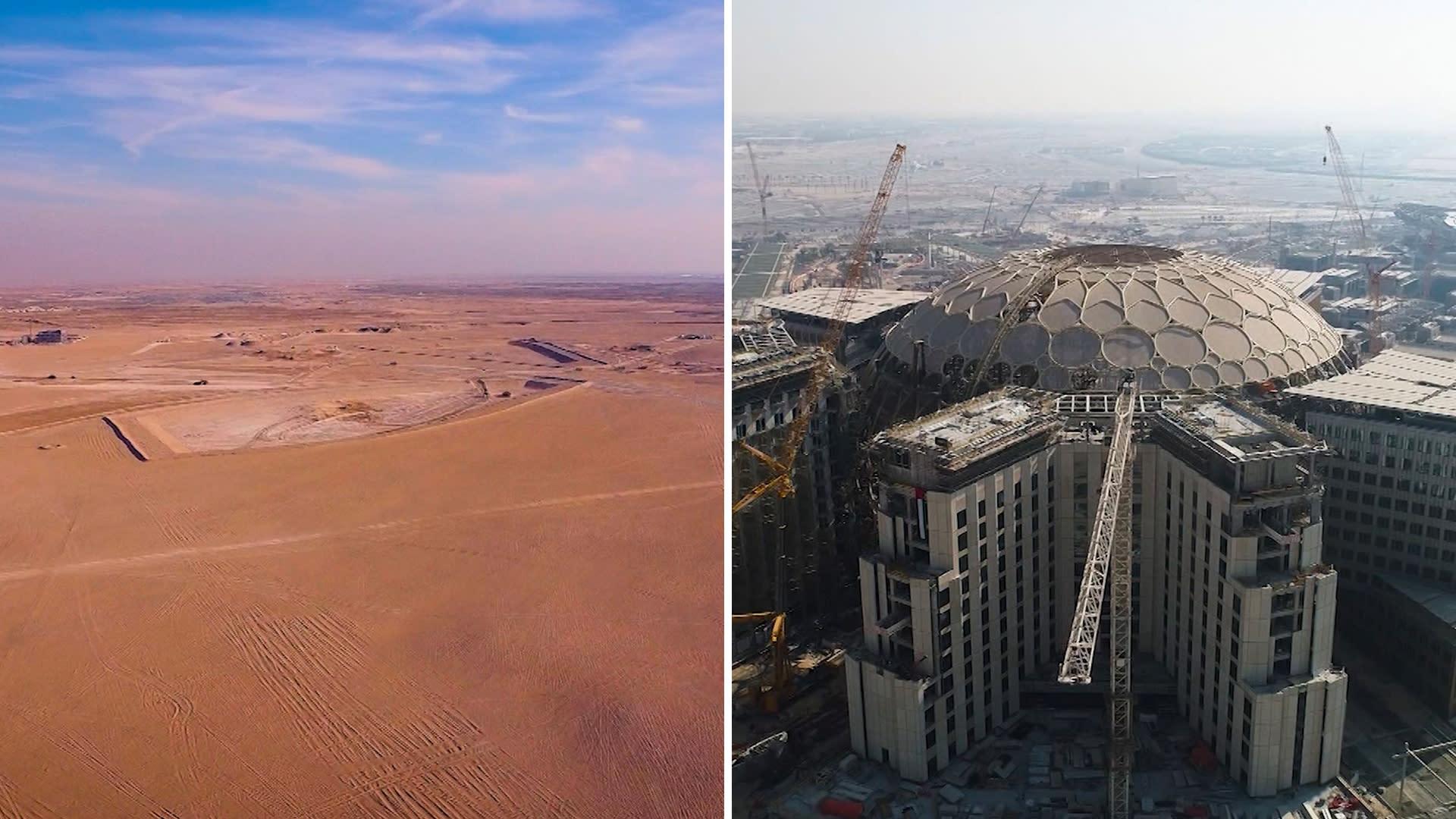 كيف حولت دبي واحة صحراوية إلى مدينة ذكية ومستقبلية في إكسبو 2020؟