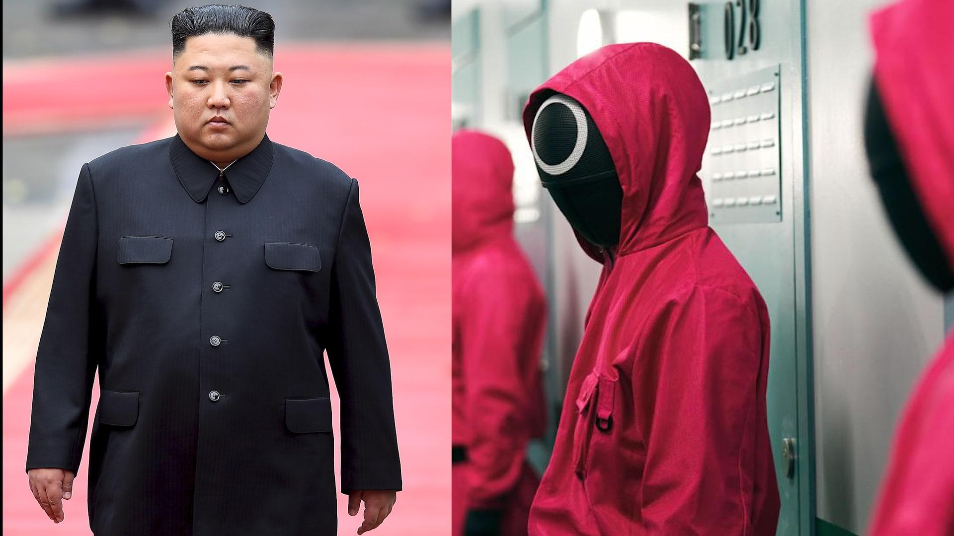 """شاهد كيف تستغل كوريا الشمالية مسلسل """"لعبة الحبار"""" لمهاجمة جارتها الجنوبية"""
