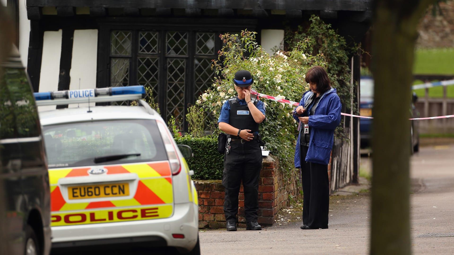 صورة أرشيفية، ضباط من الشرطة البريطانية، في 10 يوليو 2012
