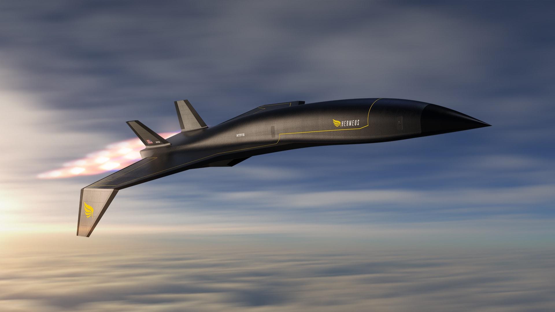 طائرة ركاب تحلق بـ5 أضعاف سرعة الصوت..هل تتحول الرحلة الخيالية إلى واقع؟