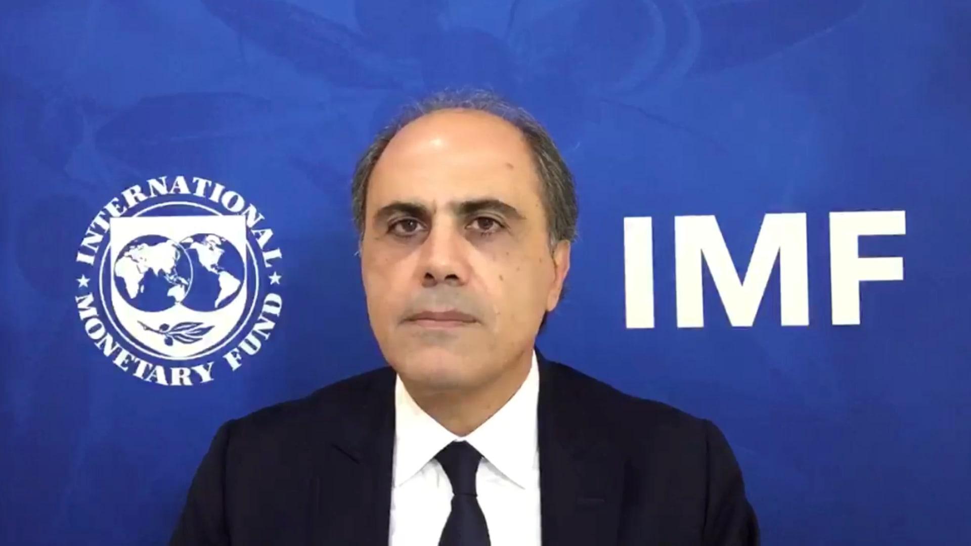 جهاد أزعور مدير إدارة الشرق الأوسط وآسيا الوسطى في صندوق النقد الدولي