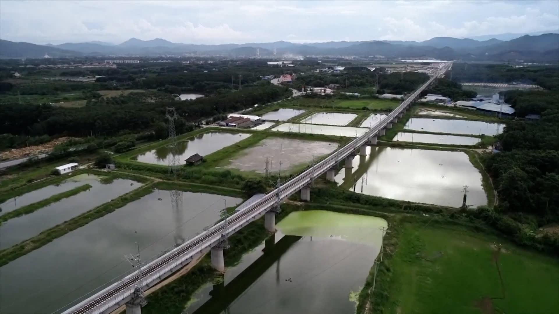 بطول 1000 كيلومتر.. سكة حديد جديدة تربط بين الصين ولاوس نهاية عام 2021