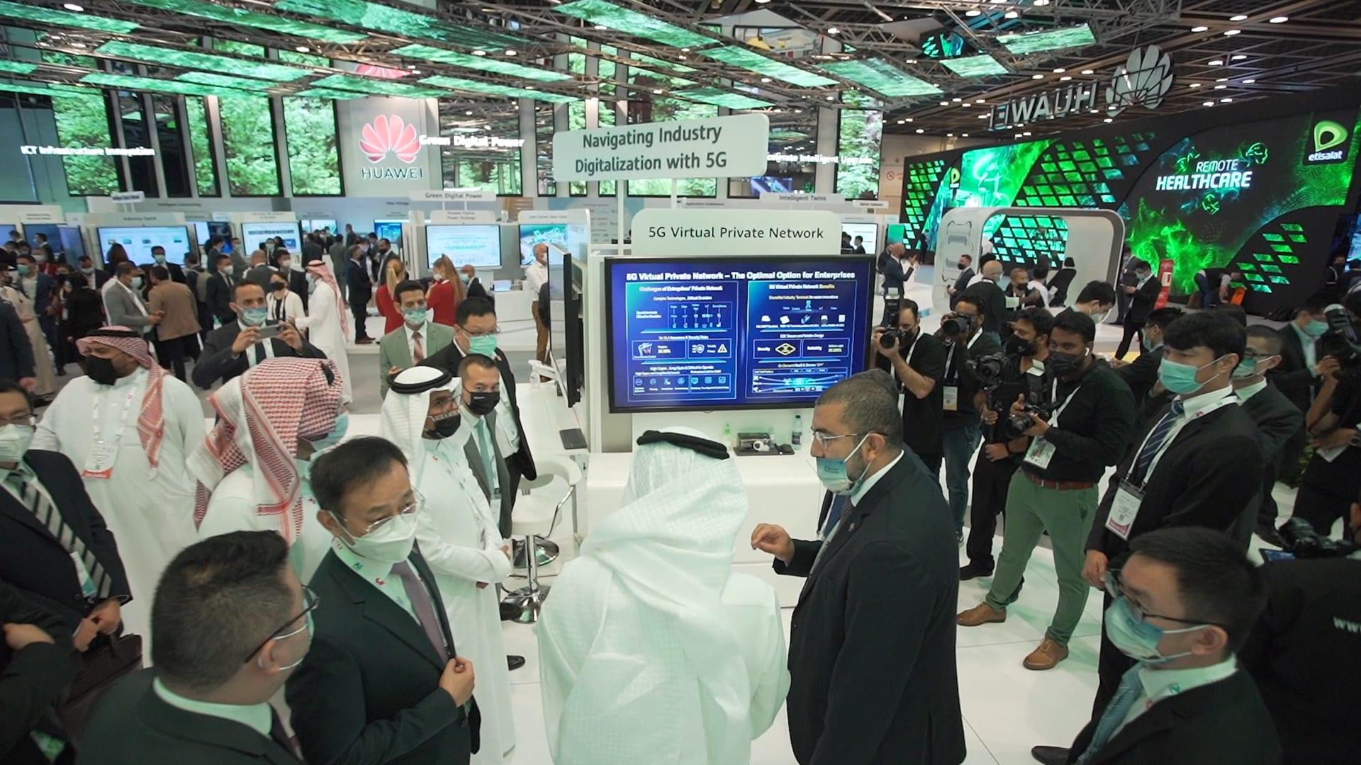 """""""هواوي"""" تكشف لـCNN أهمية تقنية الجيل الخامس في التحول الرقمي بمنطقة الشرق الأوسط"""
