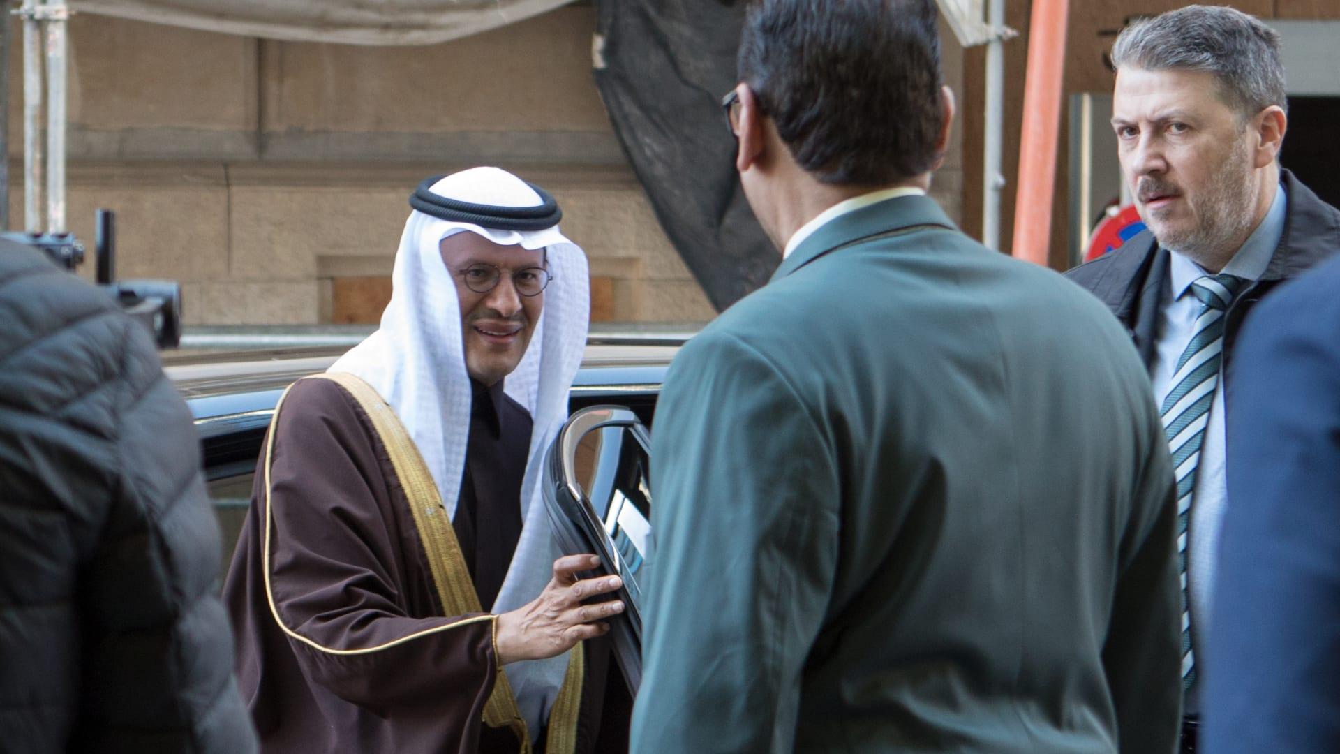 صورة أرشيفية لوزير الطاقة السعودي الأمير عبد العزيز بن سلمان